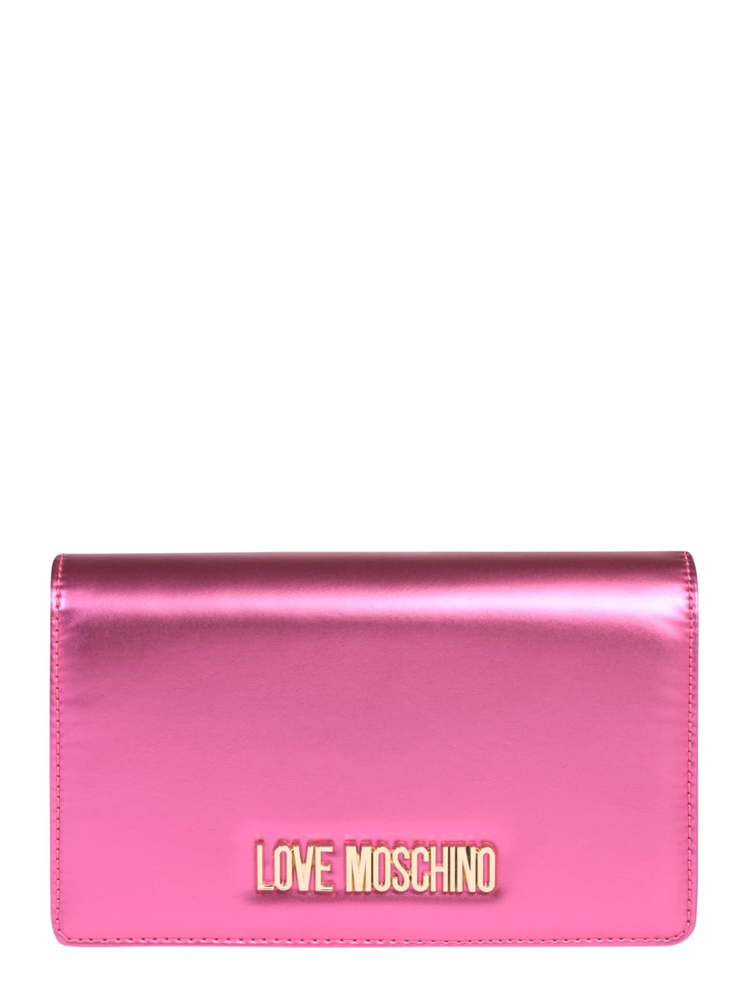 Moschino 'borsa Love Noir Metallic Nero' Bandoulière Sac À En Pu Yyb76gf