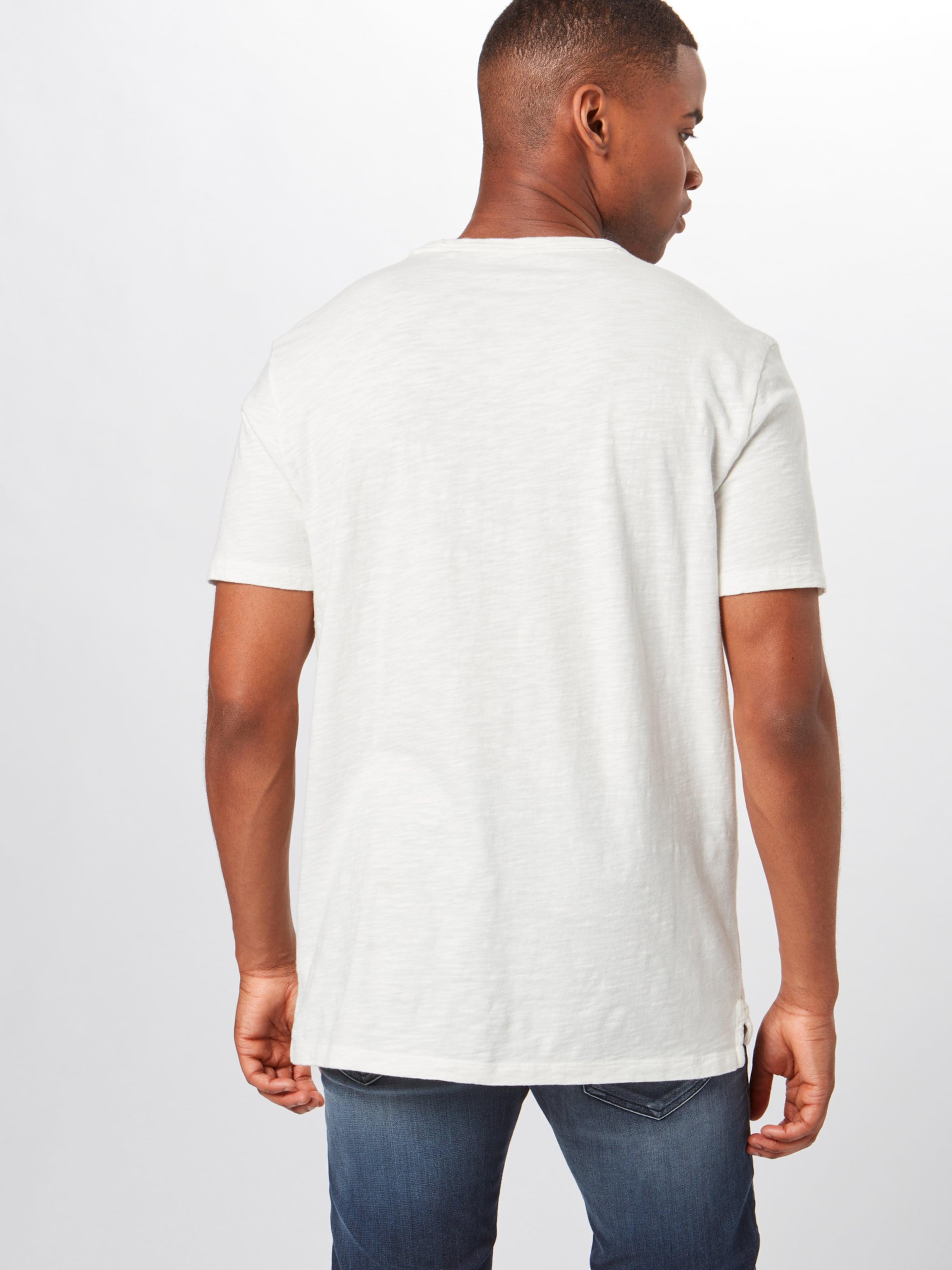 En Bleu Solid' Gap Marine T shirt 'slub 4L5ARj