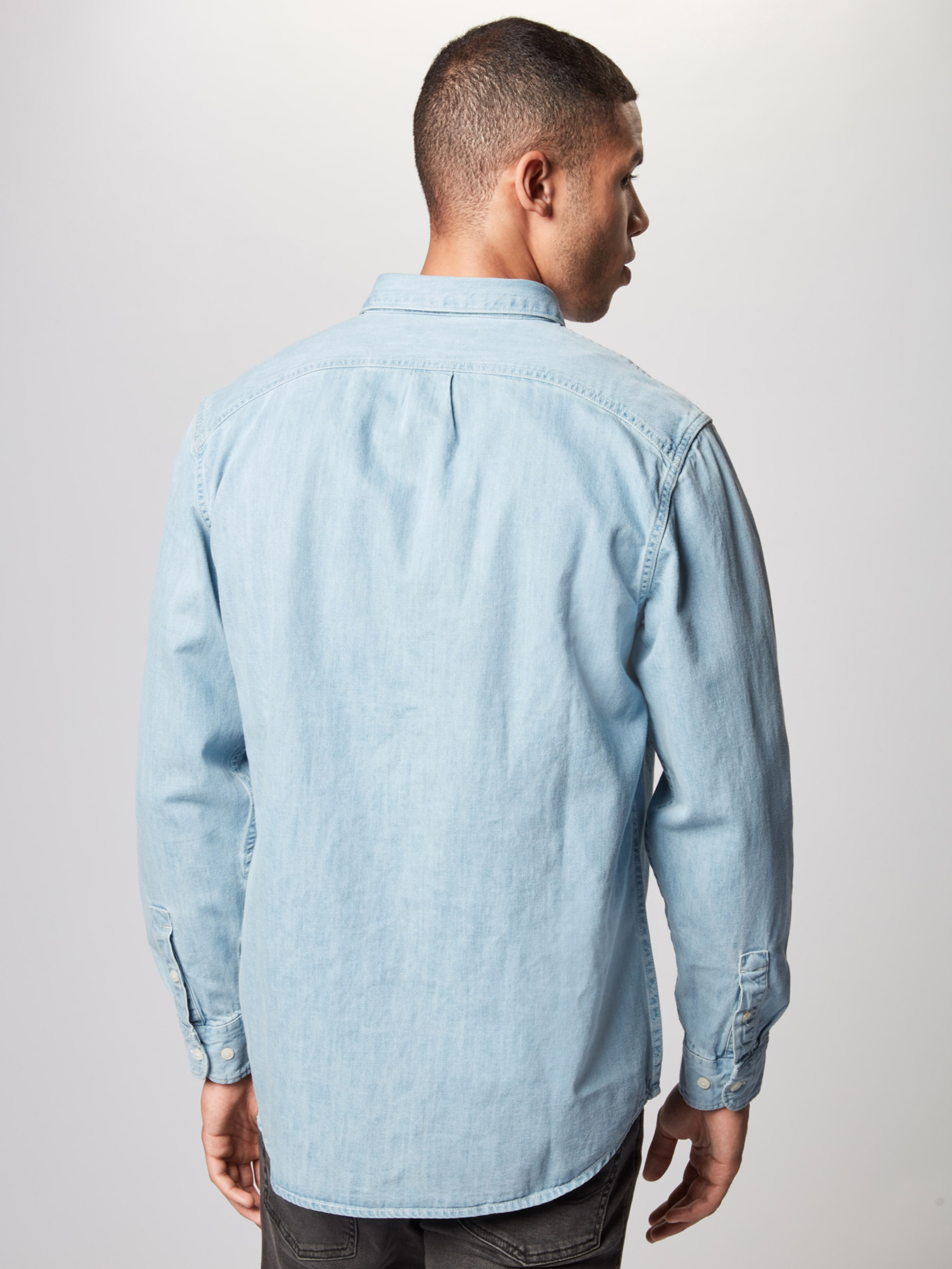 Chemise Pastel En Bleu MarineRouge 'riveted' Lee v0wOmnN8