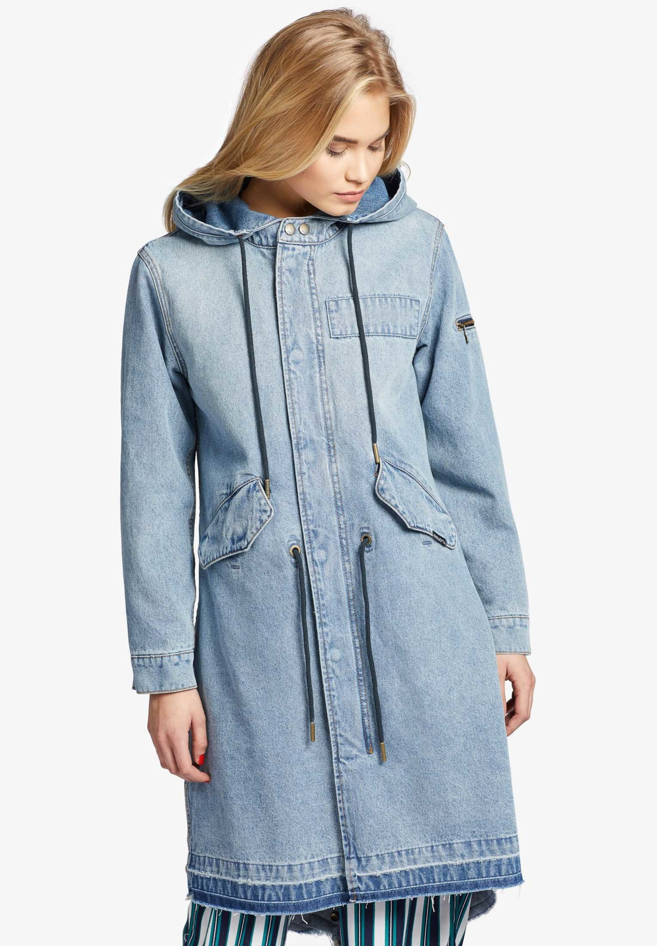 Manteau Khujo Mi En saison Blau 'miranda' tQsdrh