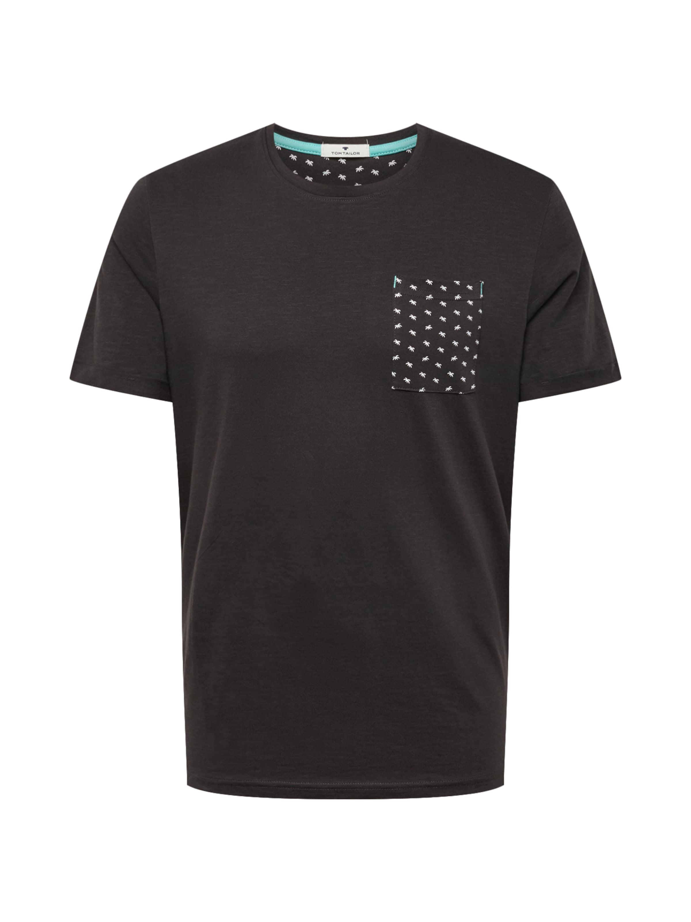 shirt Foncé Tailor En T Tom Gris DHEI9YeW2