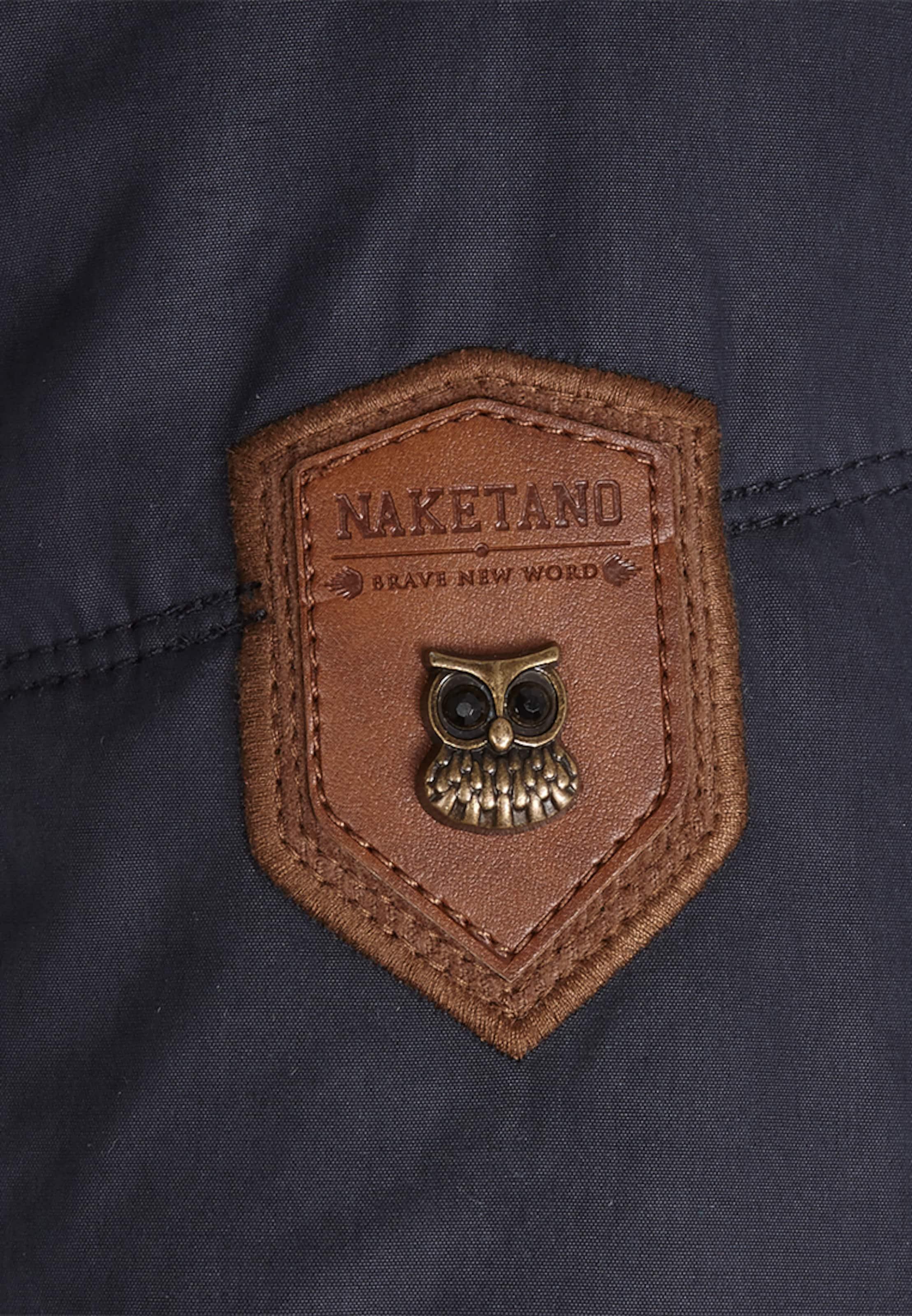 'knastrologin' Jacke DunkelblauBronze Naketano DunkelblauBronze Naketano 'knastrologin' Naketano In Jacke In I9YbD2EHWe