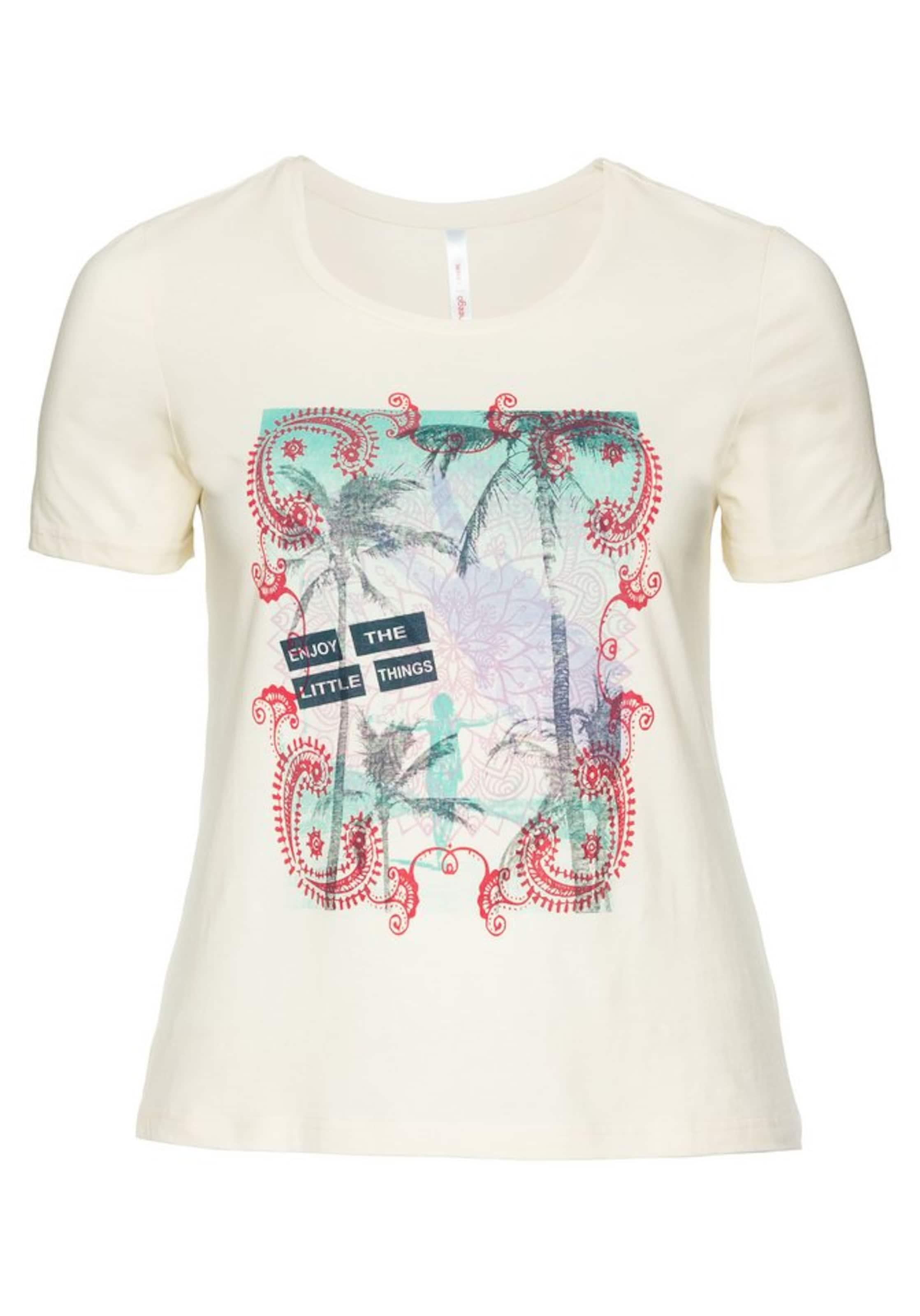 In Sheego Casual shirt BeigeMischfarben T pzUSMV