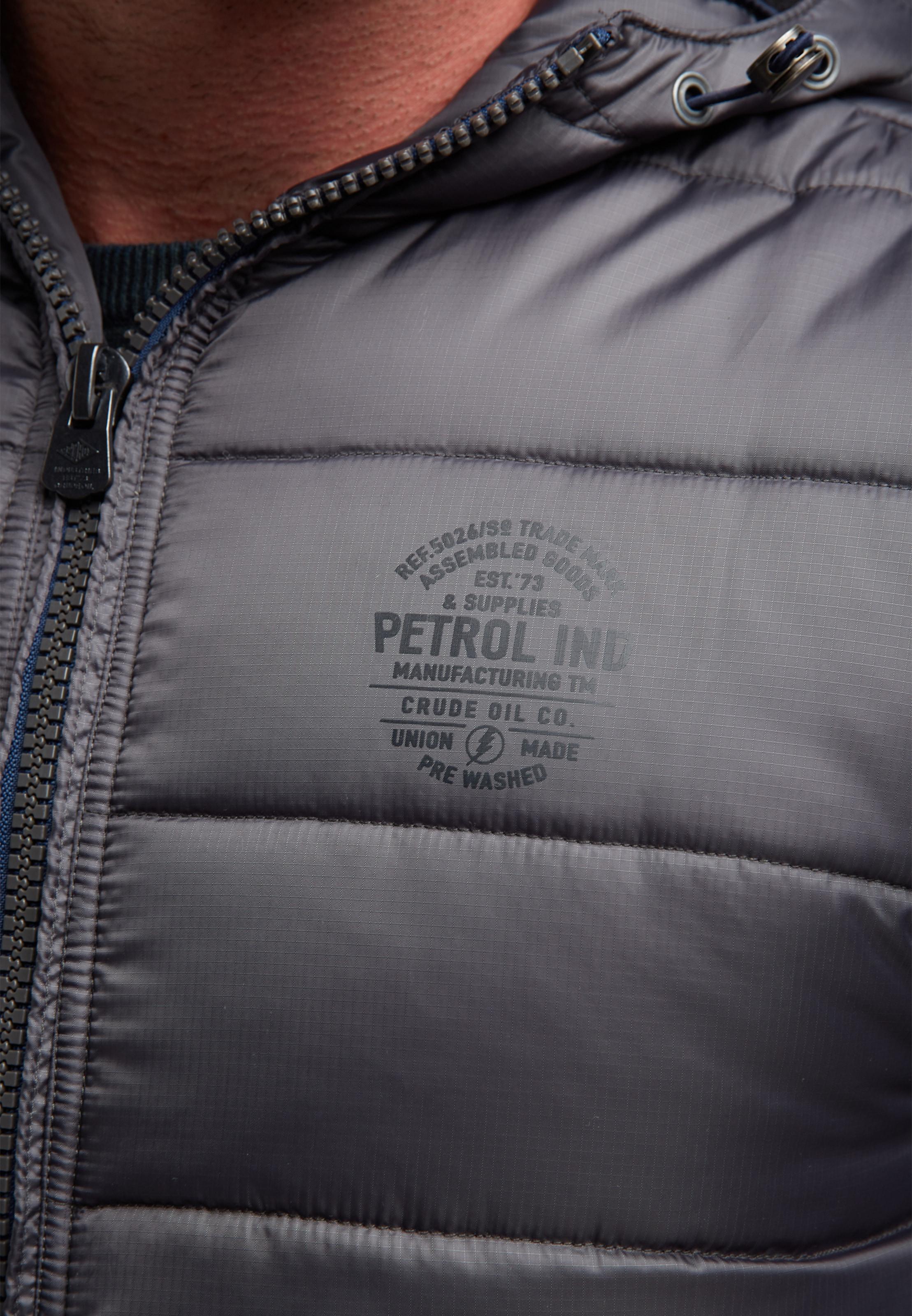 Veste En D'hiver Gris Petrol Industries L4Rj5A