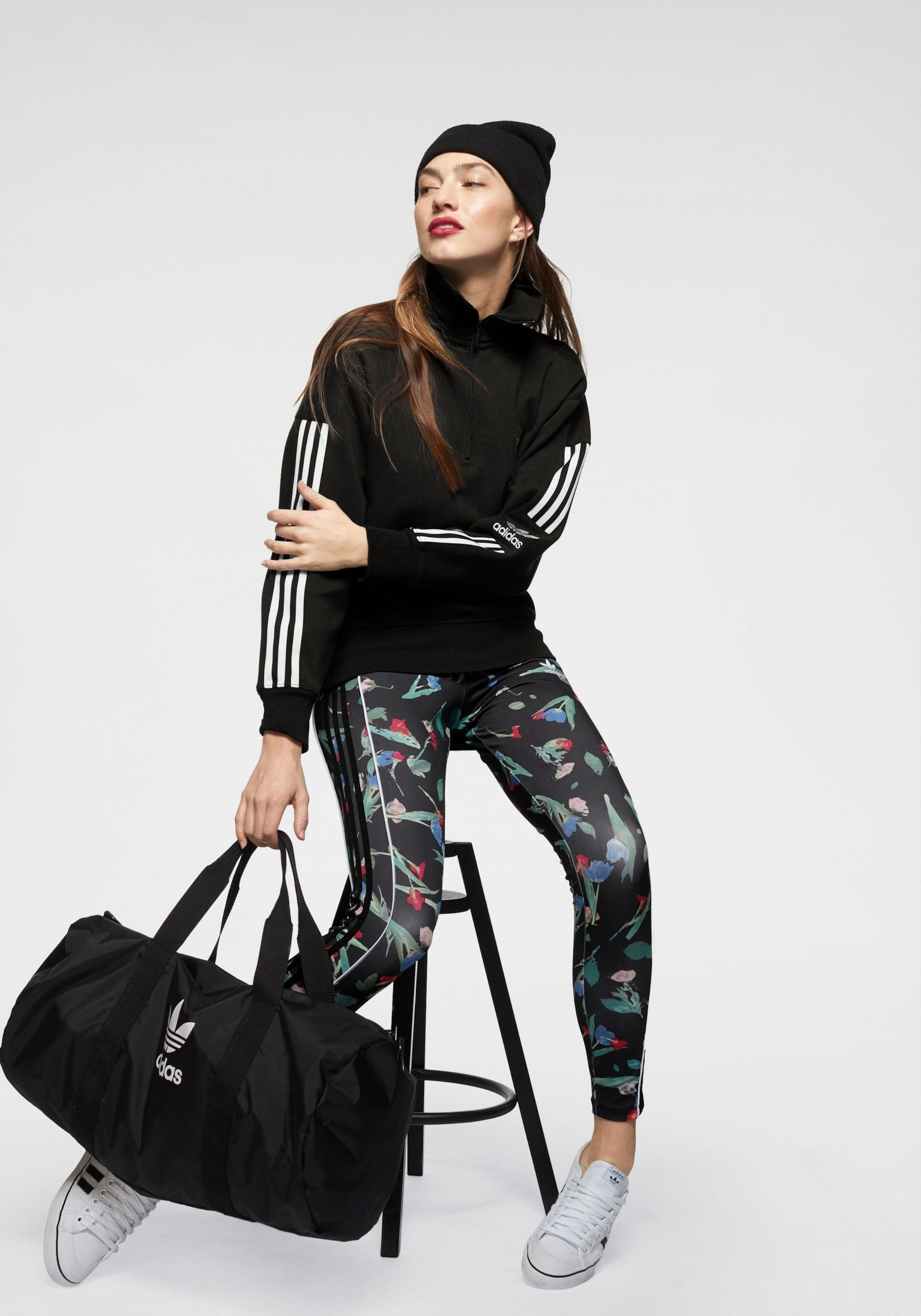 De Leggings Adidas Mélange Originals En CouleursNoir vNwmn80