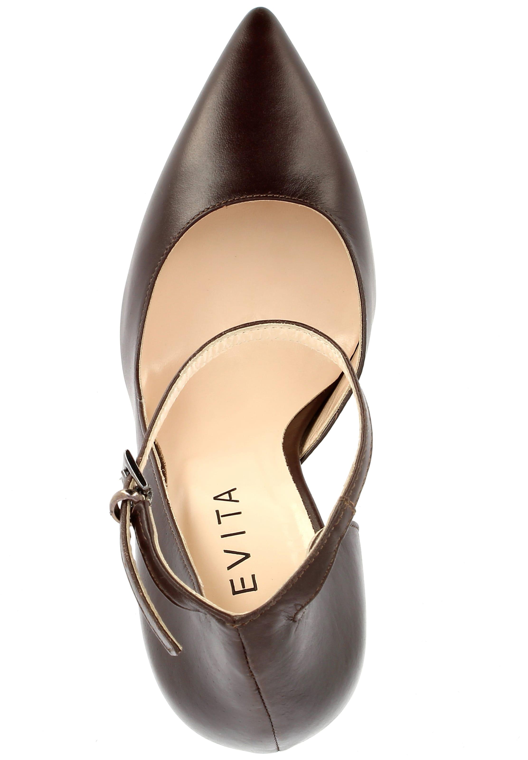 Escarpins Evita Marron Marron Escarpins Escarpins En Evita En Evita nm80wvN