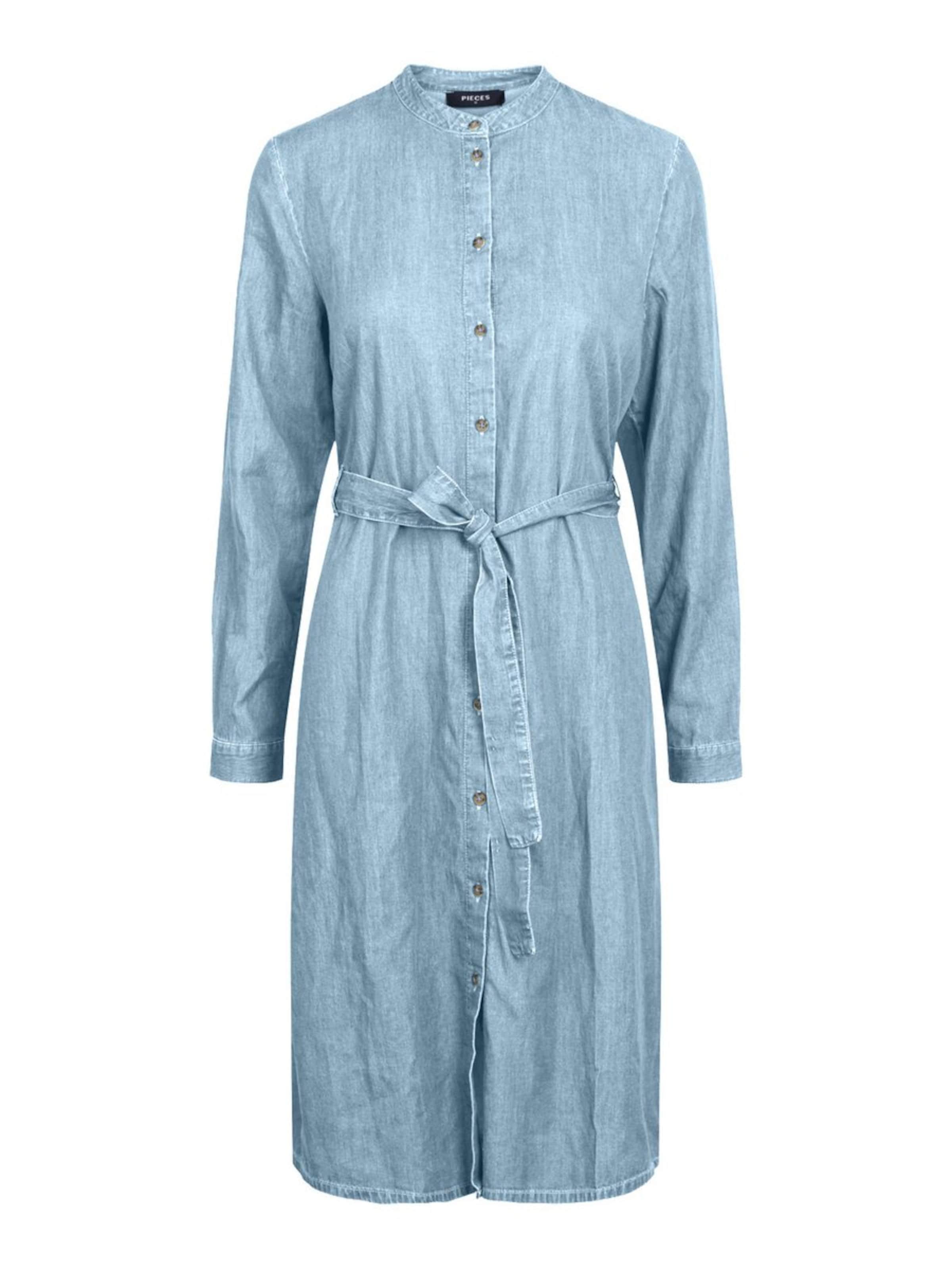 Pieces En Denim Pieces Robe Bleu Robe BhrdCQotsx