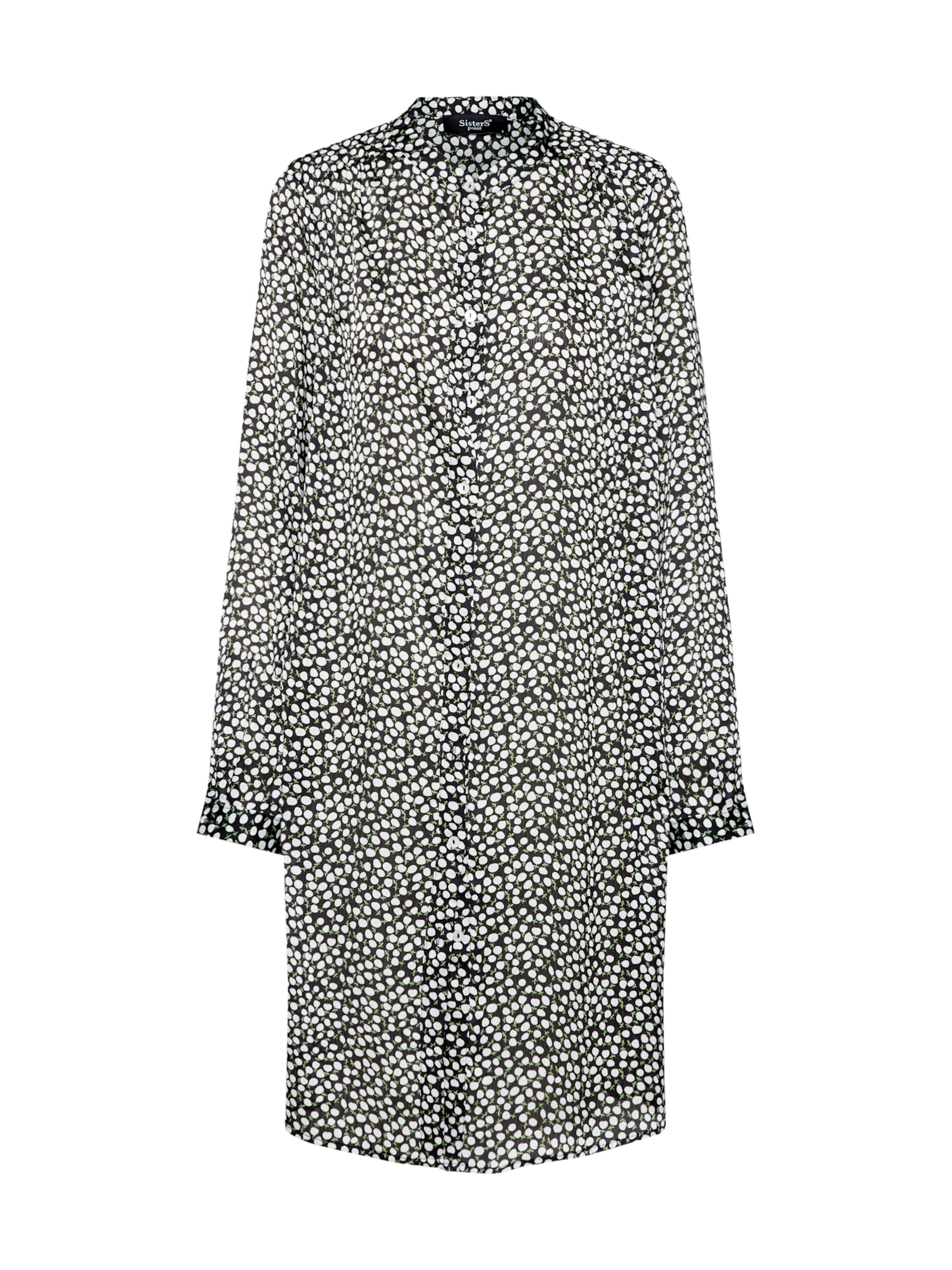 En Sisters 'valsi BeigeNoir chemise Point dr7' Robe dxeWQroCB