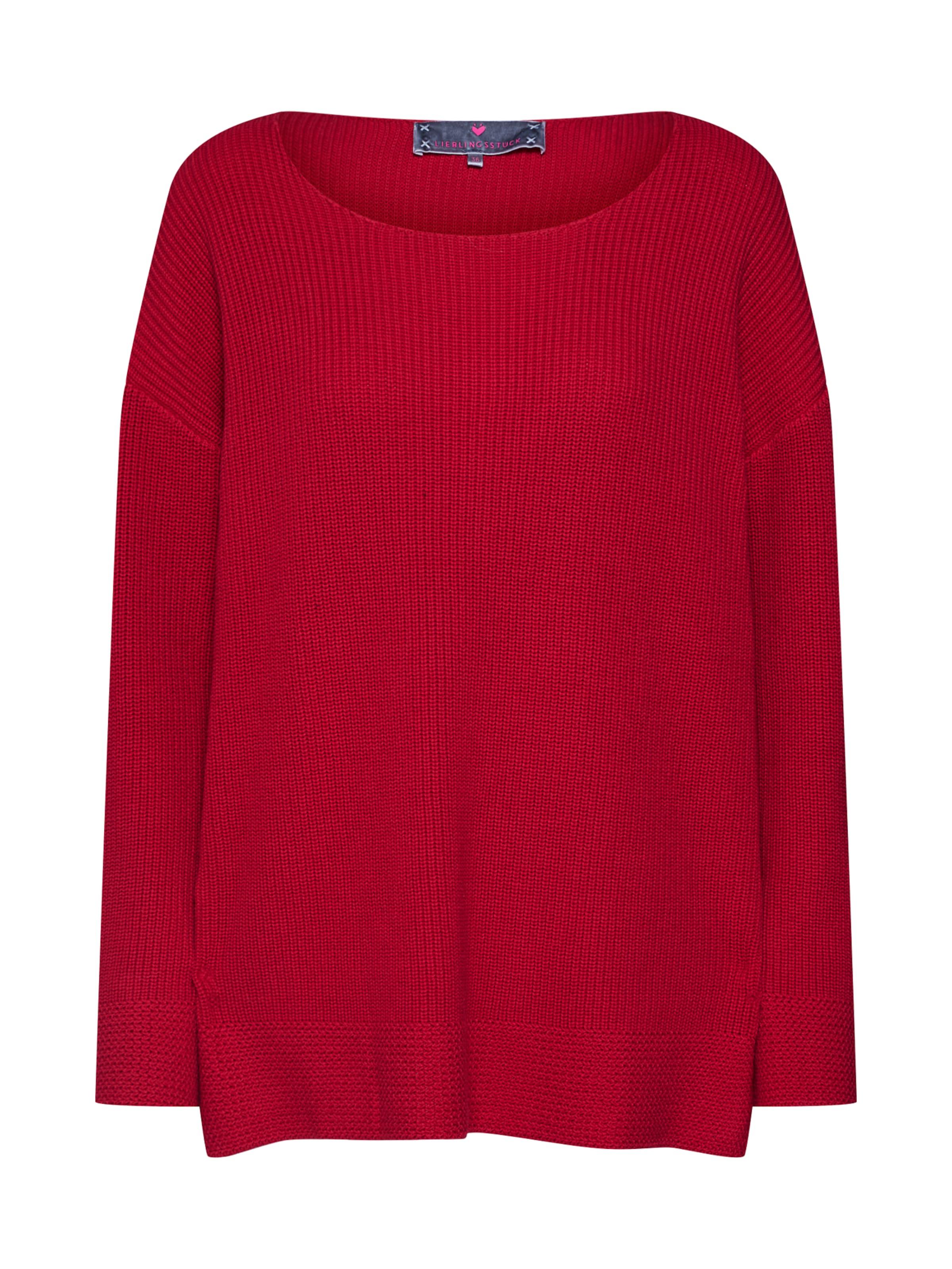 'abbyl' Pullover 'abbyl' Pullover Lieblingsstck Lieblingsstck In Rot N0vmn8w