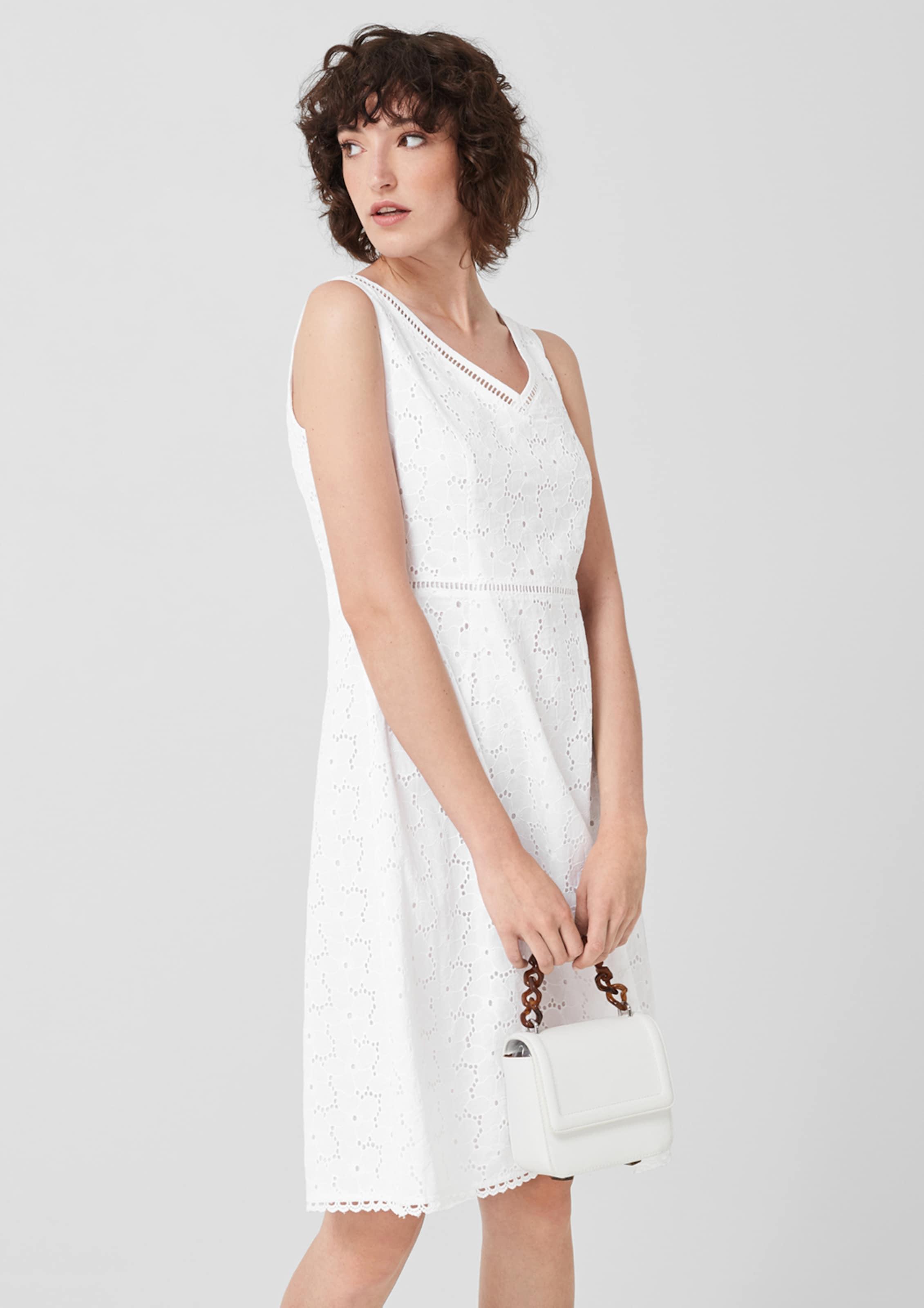 S oliver Robe Label En Red D'été Blanc TlJcF3K1