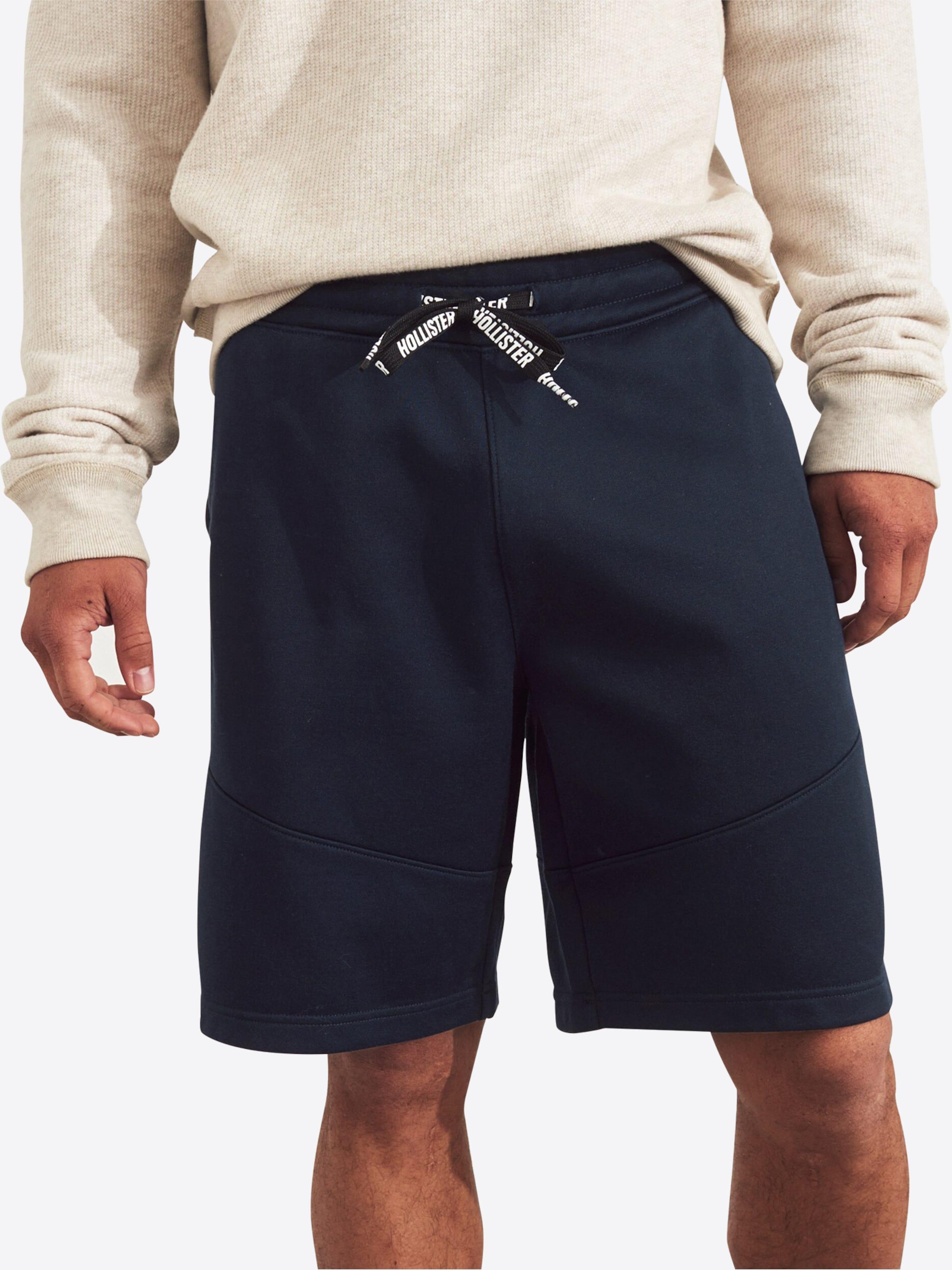 En Pantalon Piping' Marine 'tricot Bleu Hollister nP0yvmON8w
