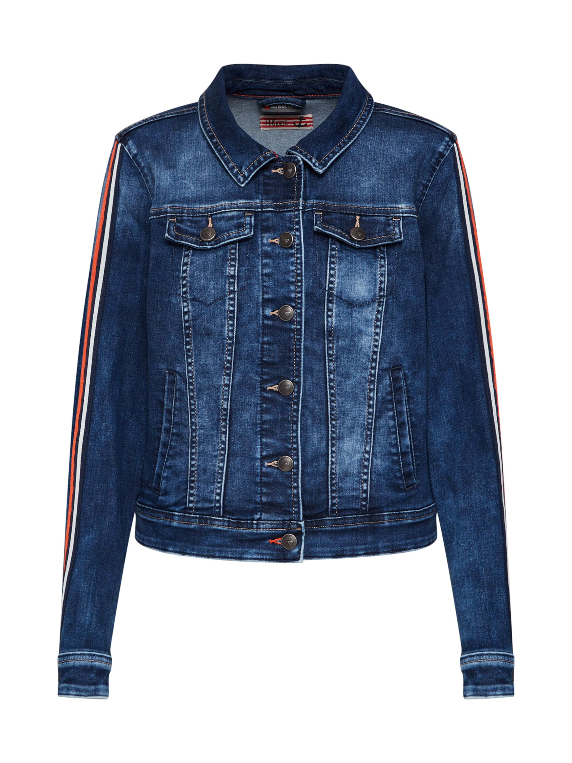 Jacke Street Denim In One Blue PkTlOwXuZi