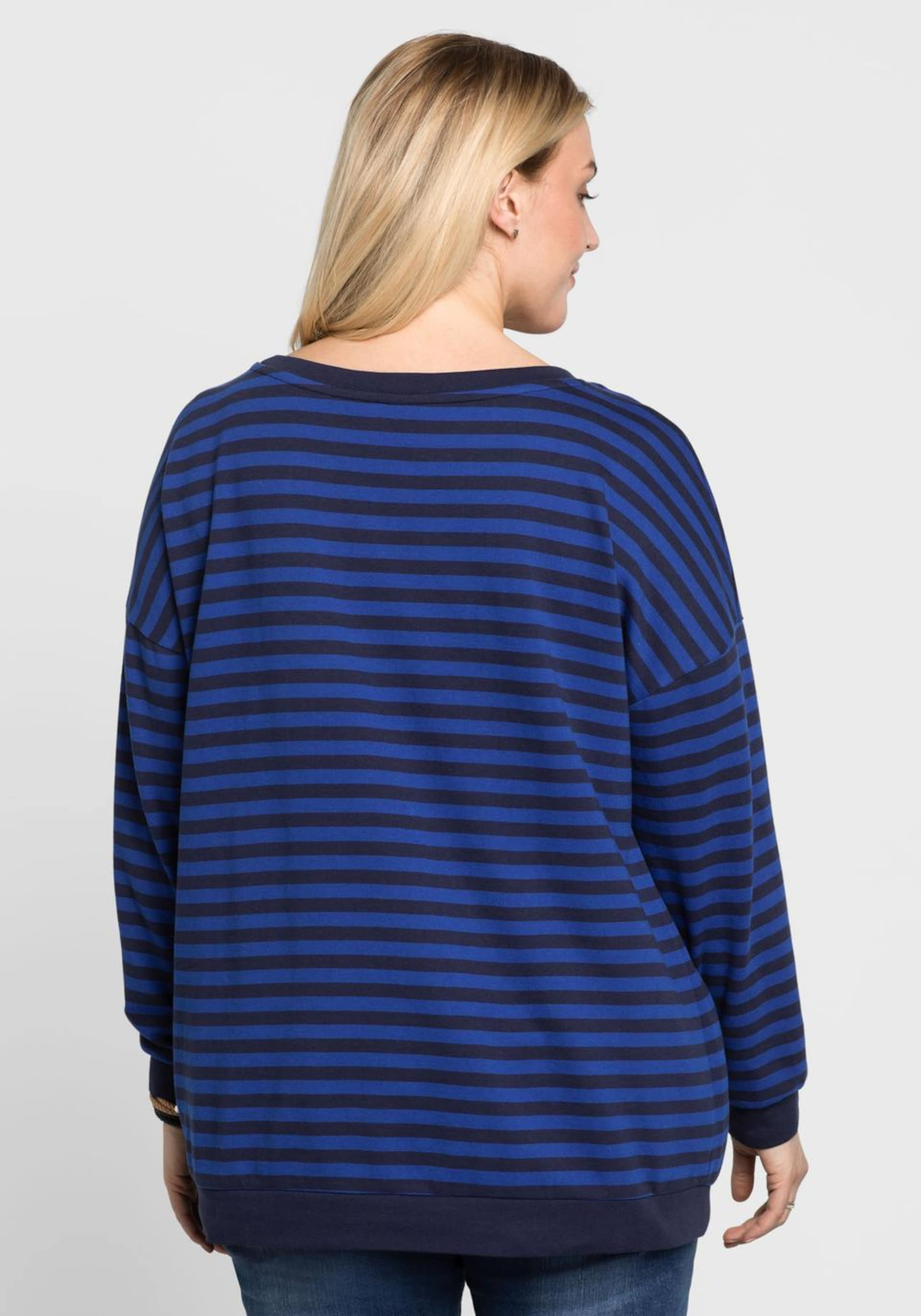 In Sweatshirt Sheegotit RoyalblauSchwarz Sheegotit In Sweatshirt RoyalblauSchwarz qSMpUVz
