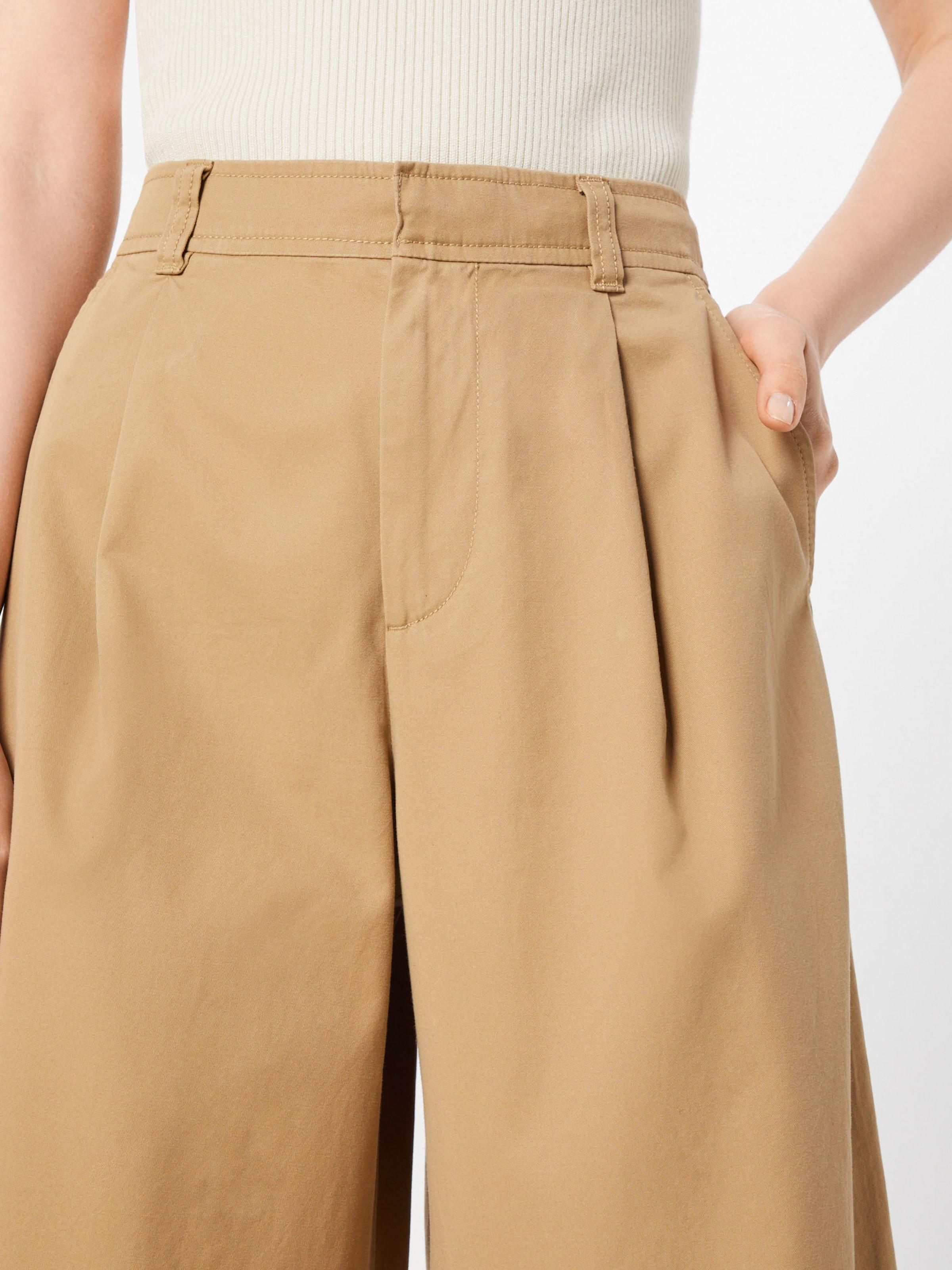 Jpn' En rise Beige Leg Jean 'hi Wide Gap Pleated Nm8Oyv0wn