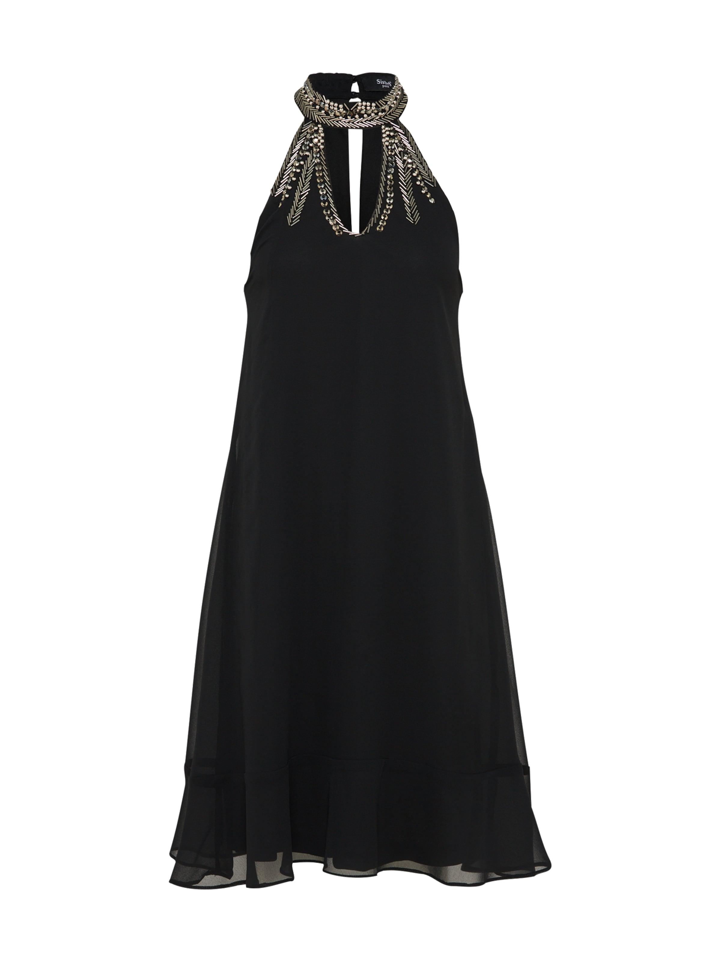 De Cocktail Sisters Point En Noir 'nago' Robe 3cluTKJF1