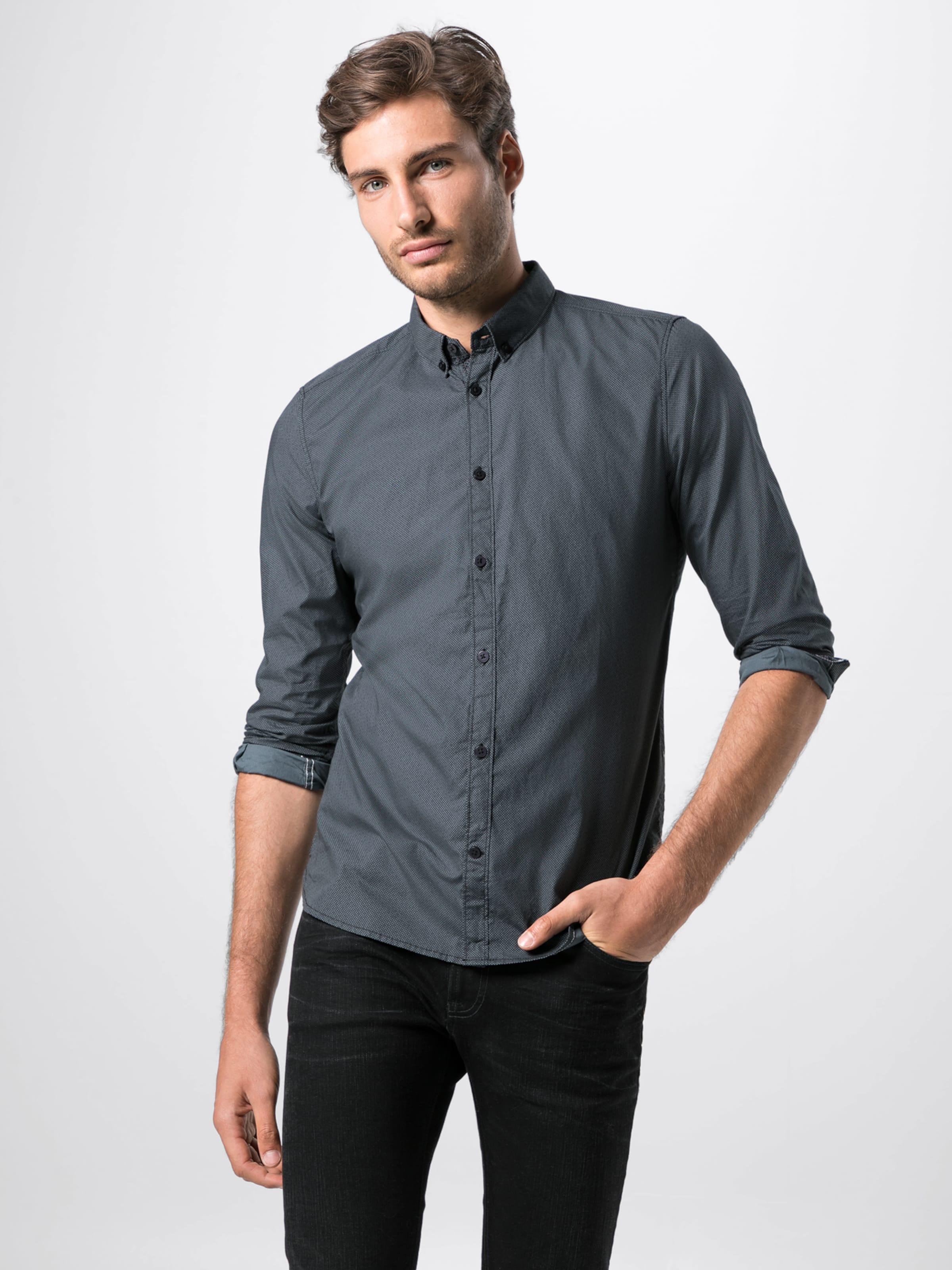 'floyd Tom Printed Gris Foncé Tailor Chemise Shirt' Basic En dQoerCxBW
