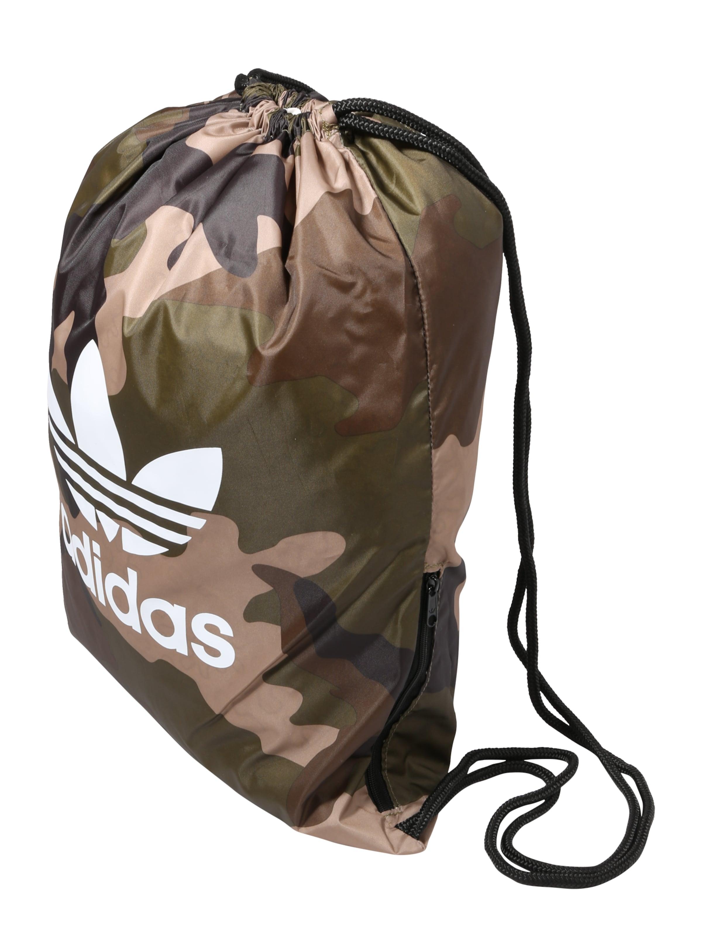 MarronVert Adidas Foncé À En Sacs 'gymsack Blanc Originals Cordon Camo' eDEYW29HI