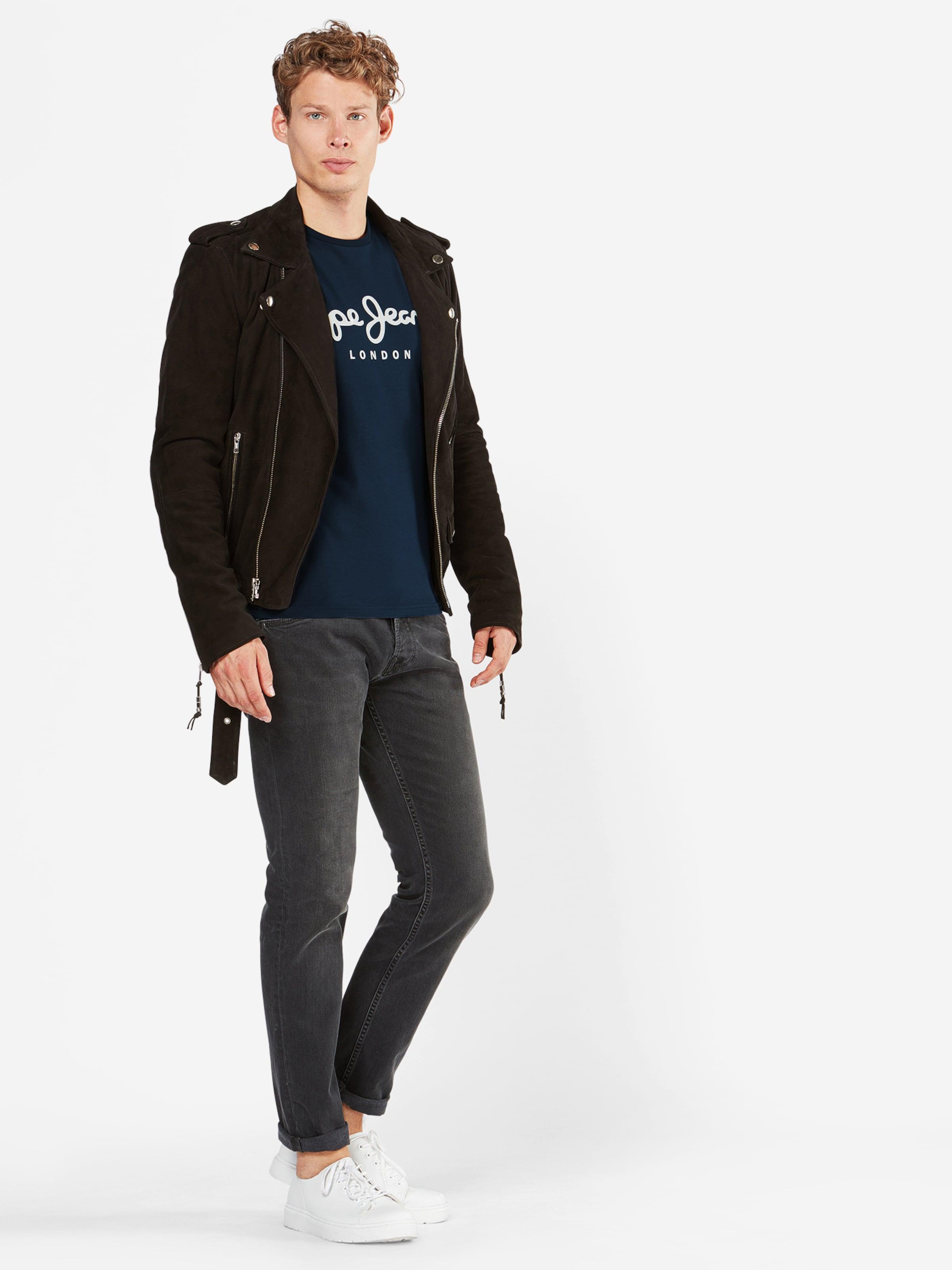 Jeans En Stretch' 'original Pepe T shirt Bleu NuitBlanc QhCtdxsr