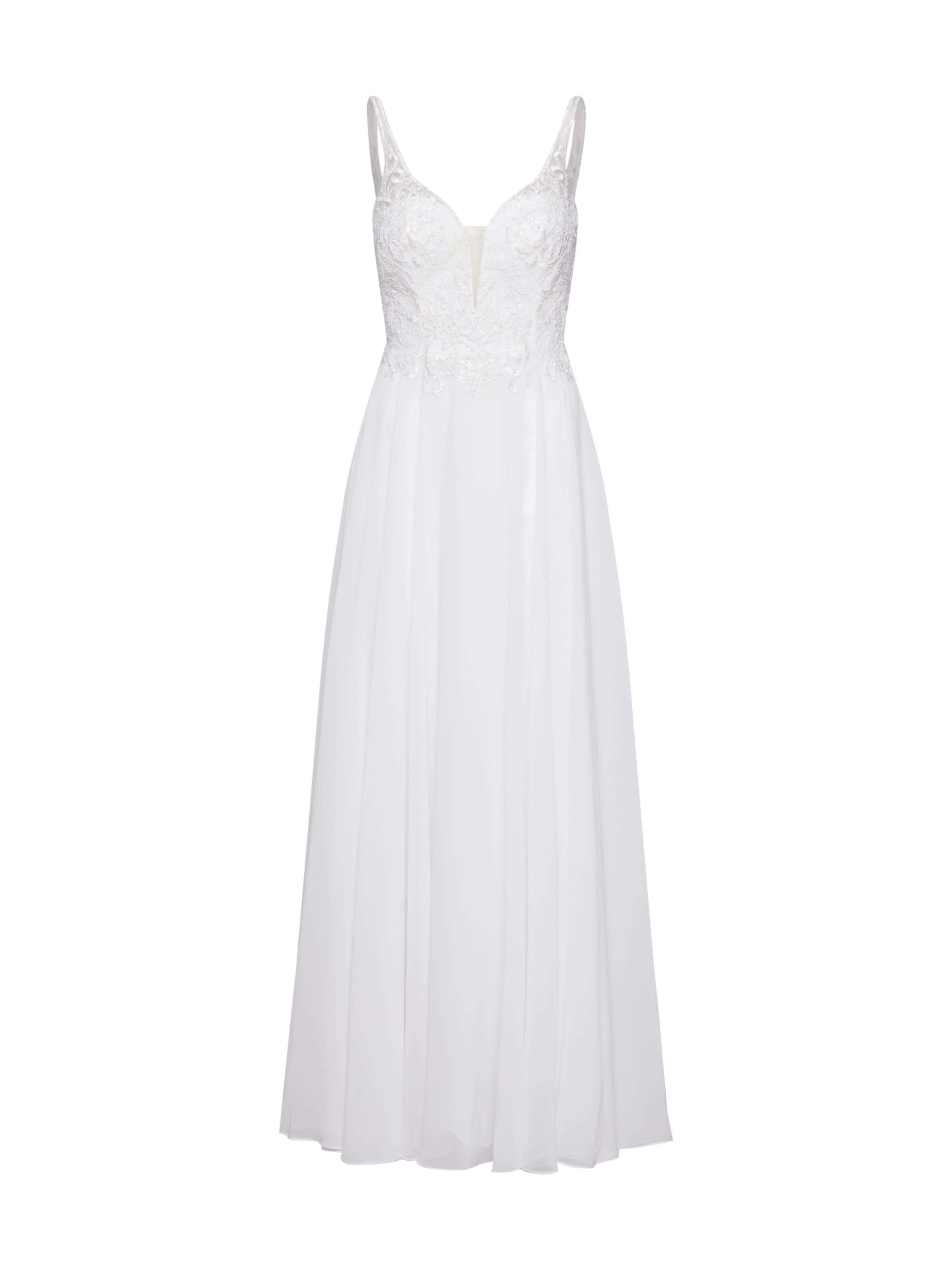 Robe De Mascara Soirée En Blanc 'mc181487' nwOmN80v