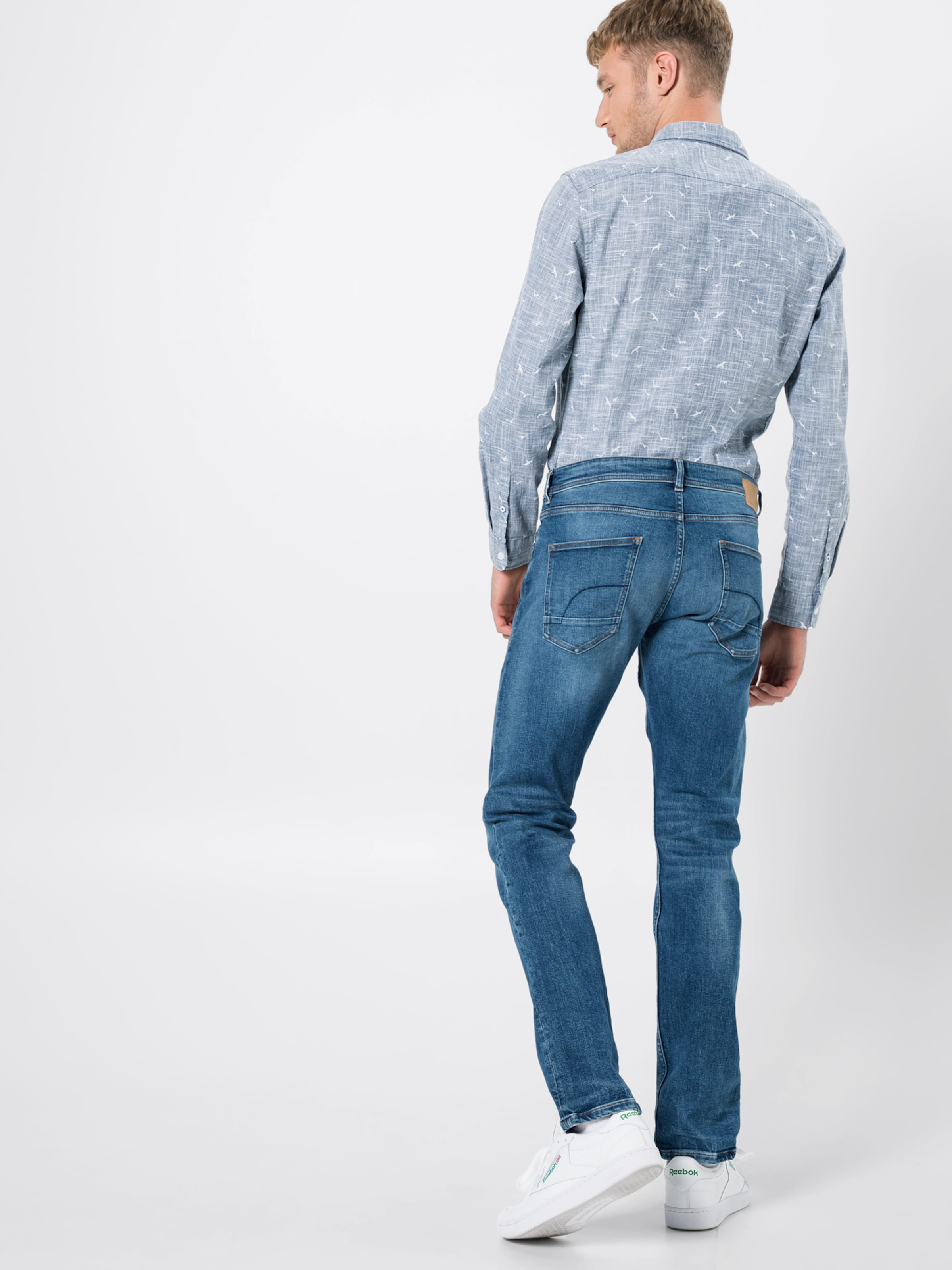 Denim En Bleu 5 Edc 'ocs Jean Slim By Esprit Pants Pkt Denim' EDH9W2I