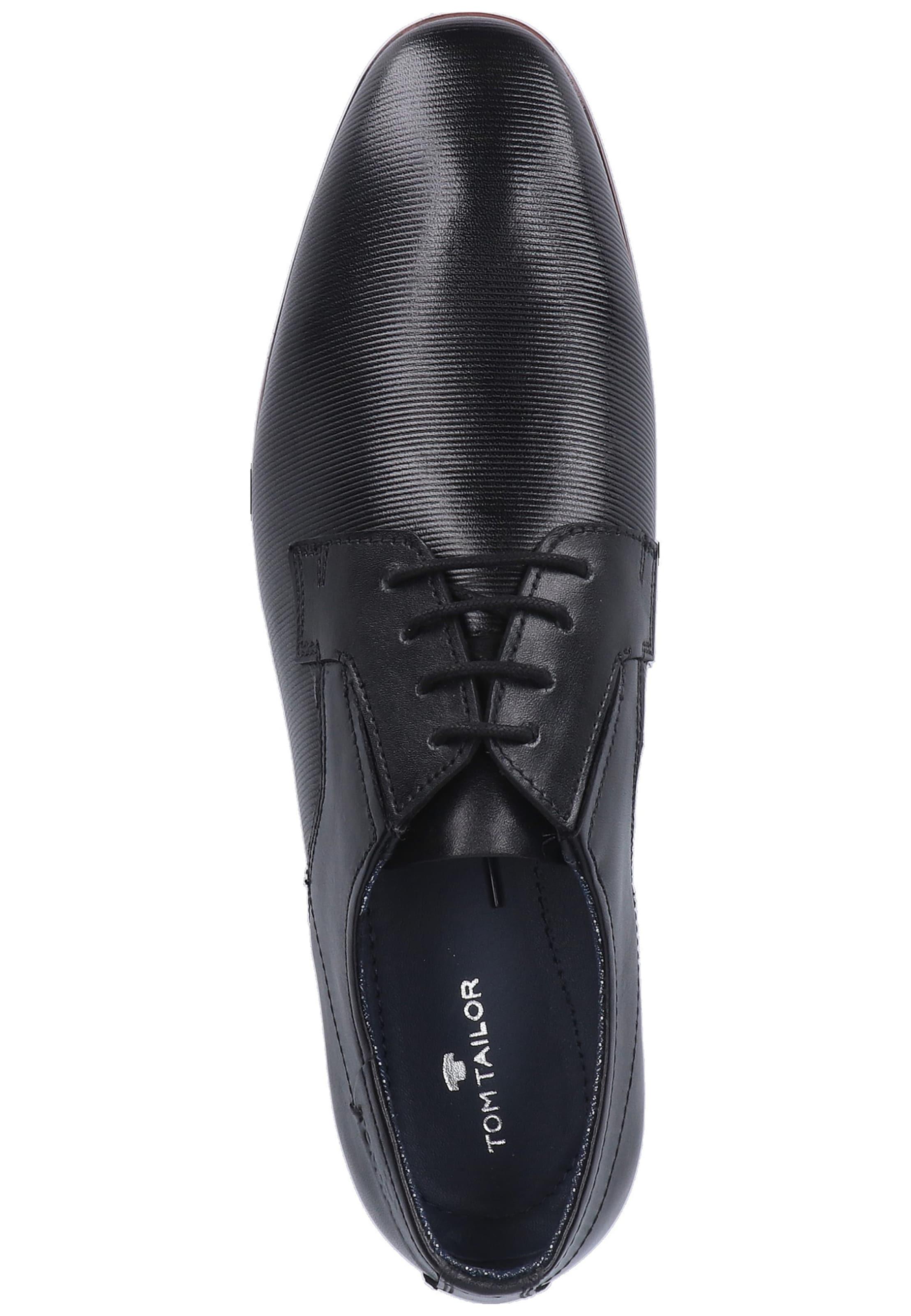 À Noir Tailor Tom Lacets Chaussure En H29YWEDI
