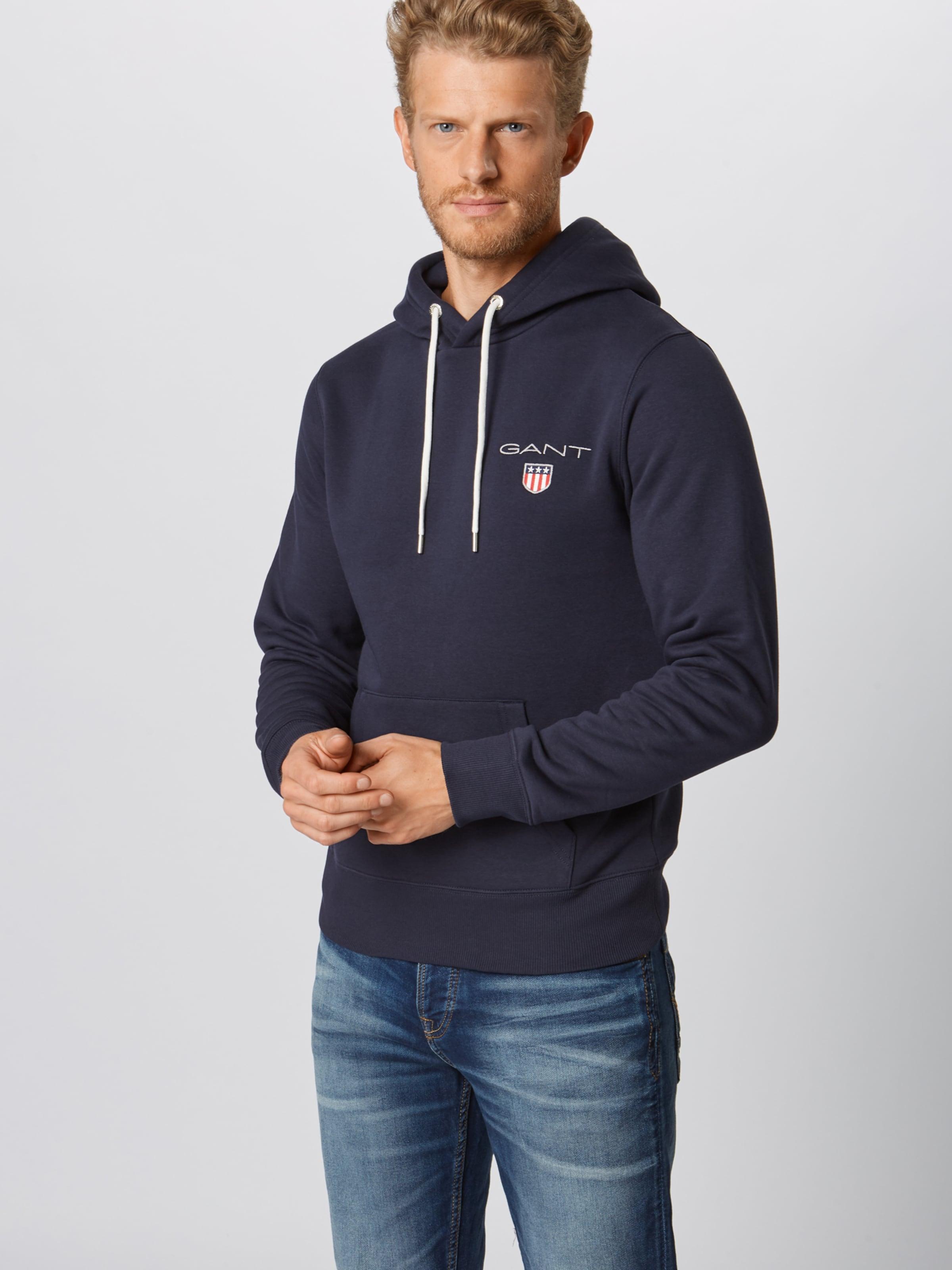 Dunkelblau Shield' In Sweatshirt Gant 'medium v0wON8nm