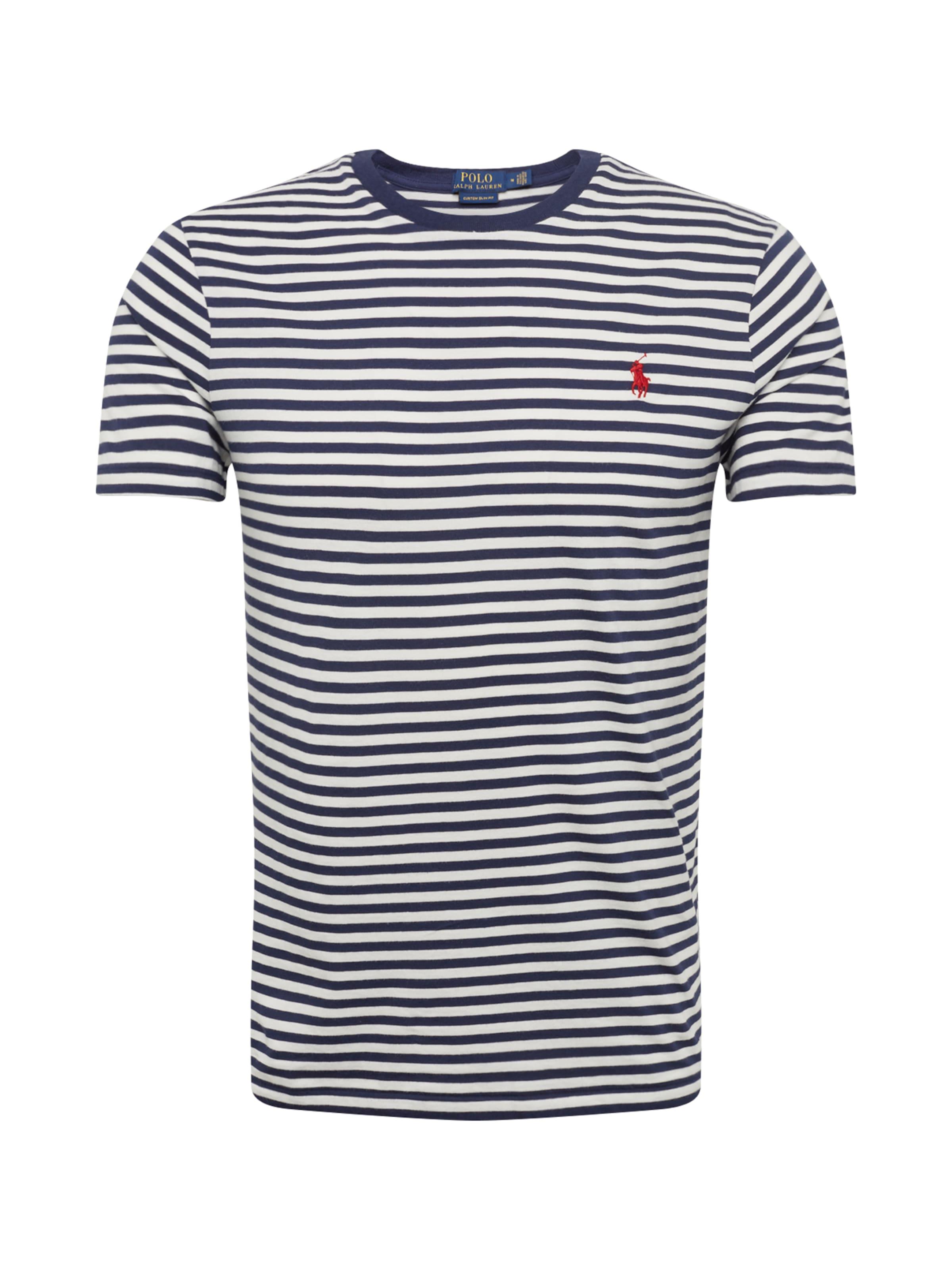 short T Ralph 'sscncmslm7 shirt' t Blanc Polo Bleu Sleeve En MarineRouge Lauren shirt YWH92EDI