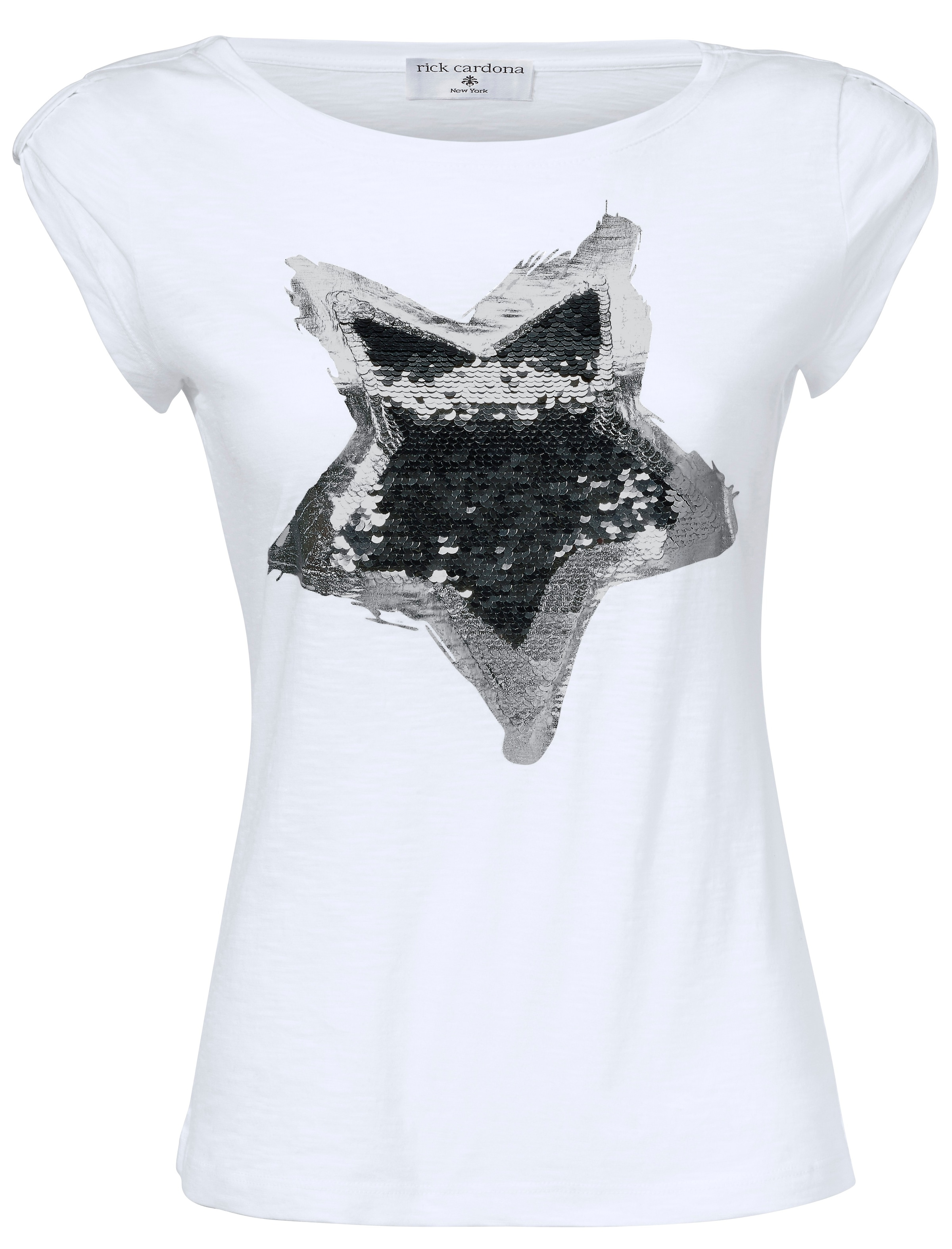 Gris Heine shirt T En Chiné rdBoCeQxW