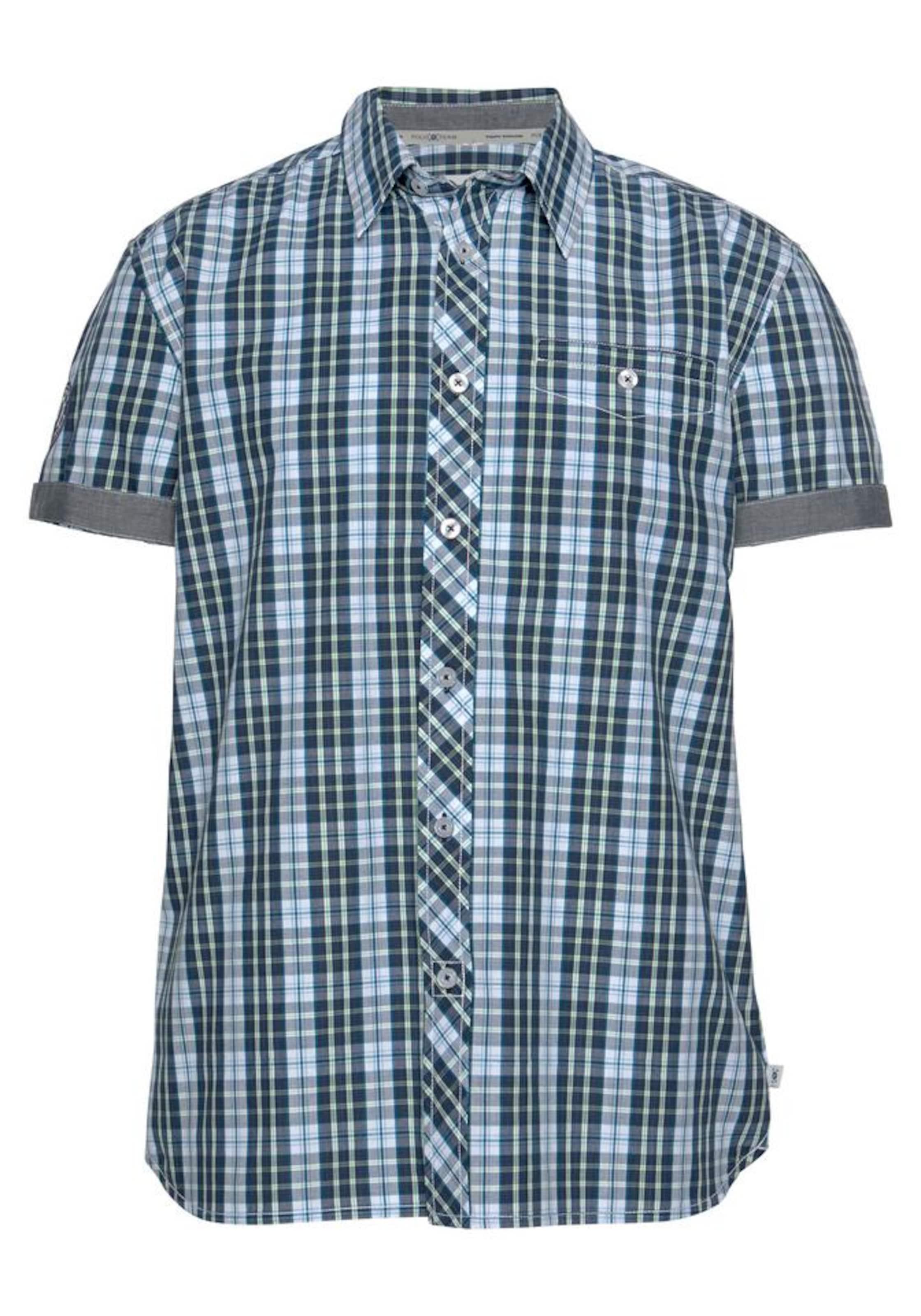 BlauGrün Weiß In Tom Tailor Team Polo Kurzarmhemd UzVqSMp
