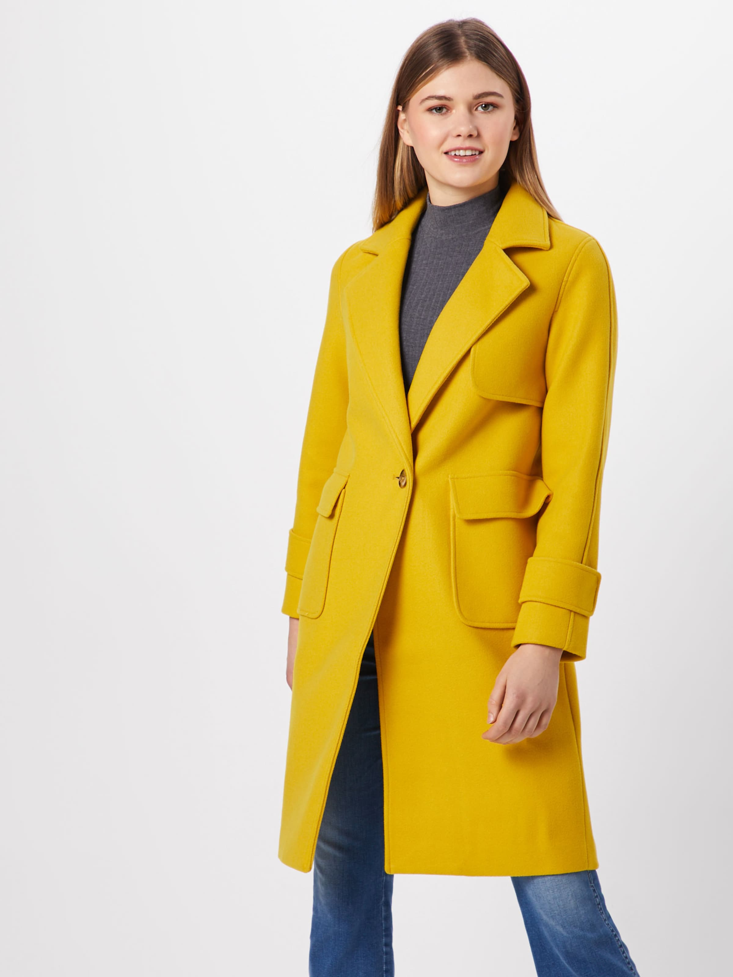 amp;odd 'coat Senf Mantel Even Button' Horn In With KFcTlJ31