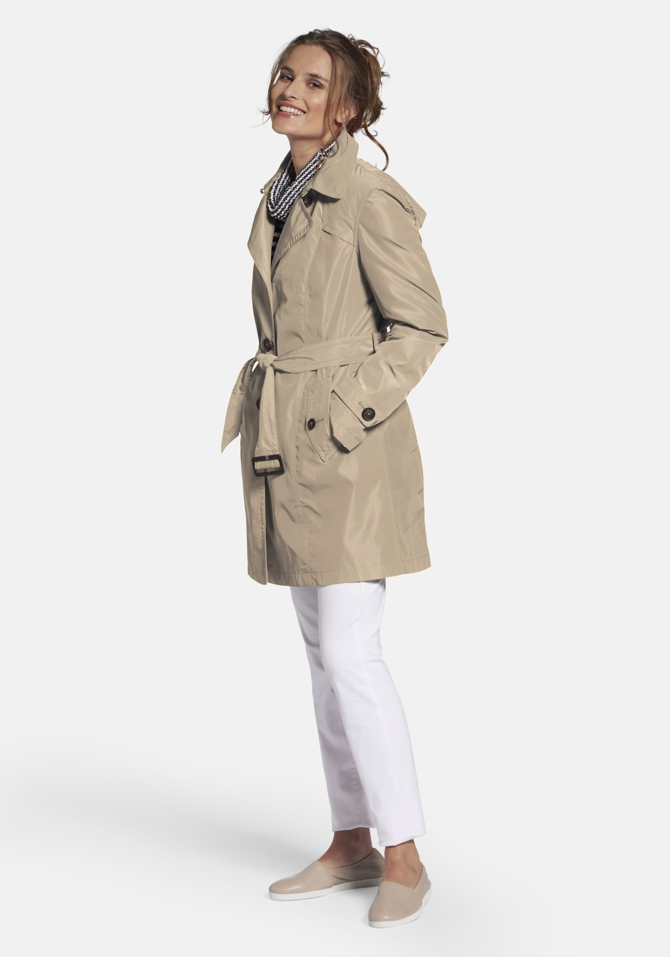 Sand In day' Basler 'authentischer Trenchcoat Every cq43AjRL5