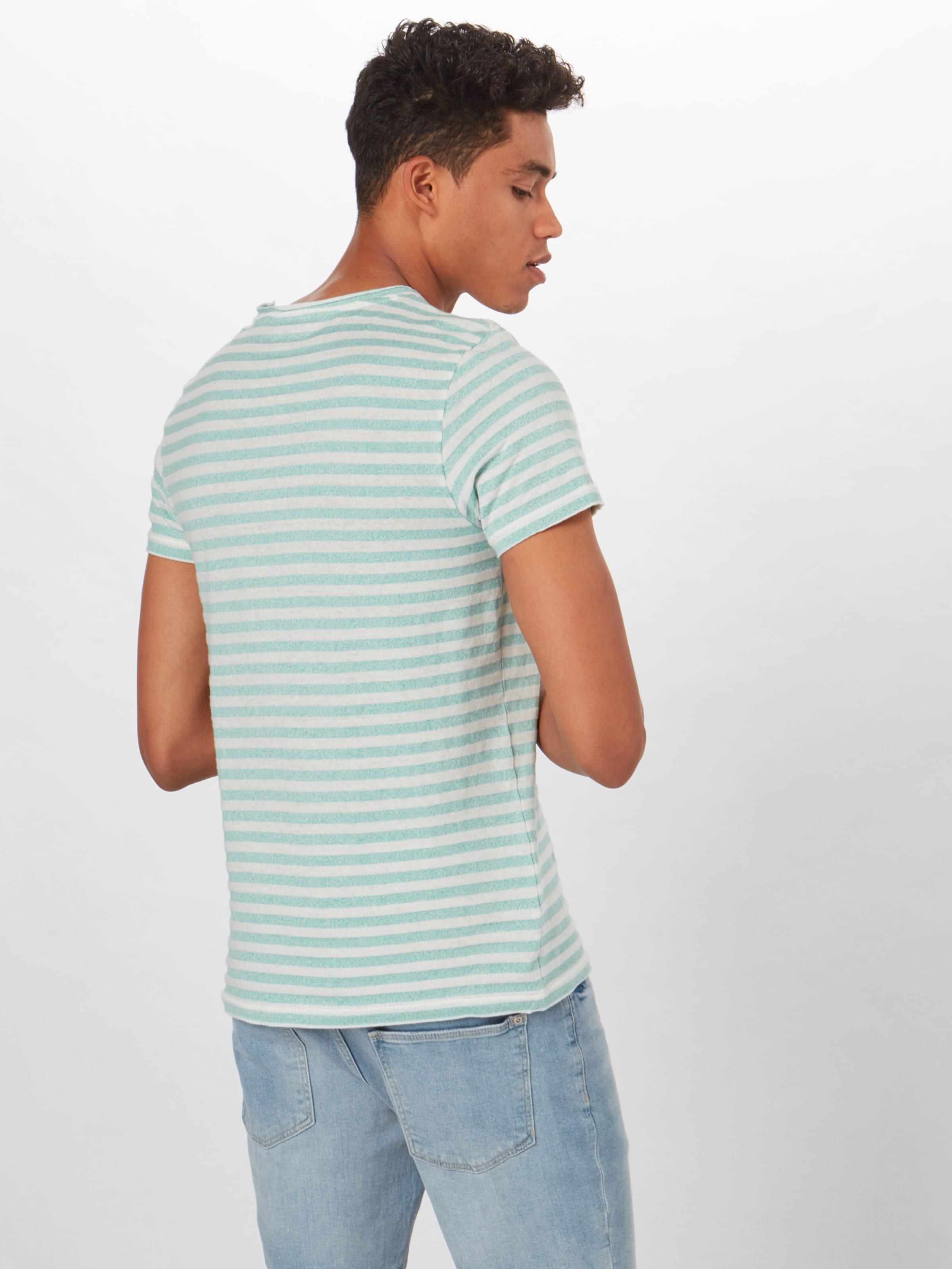 T Review shirt 'brokenstripe' NoirBlanc En Okwn0P