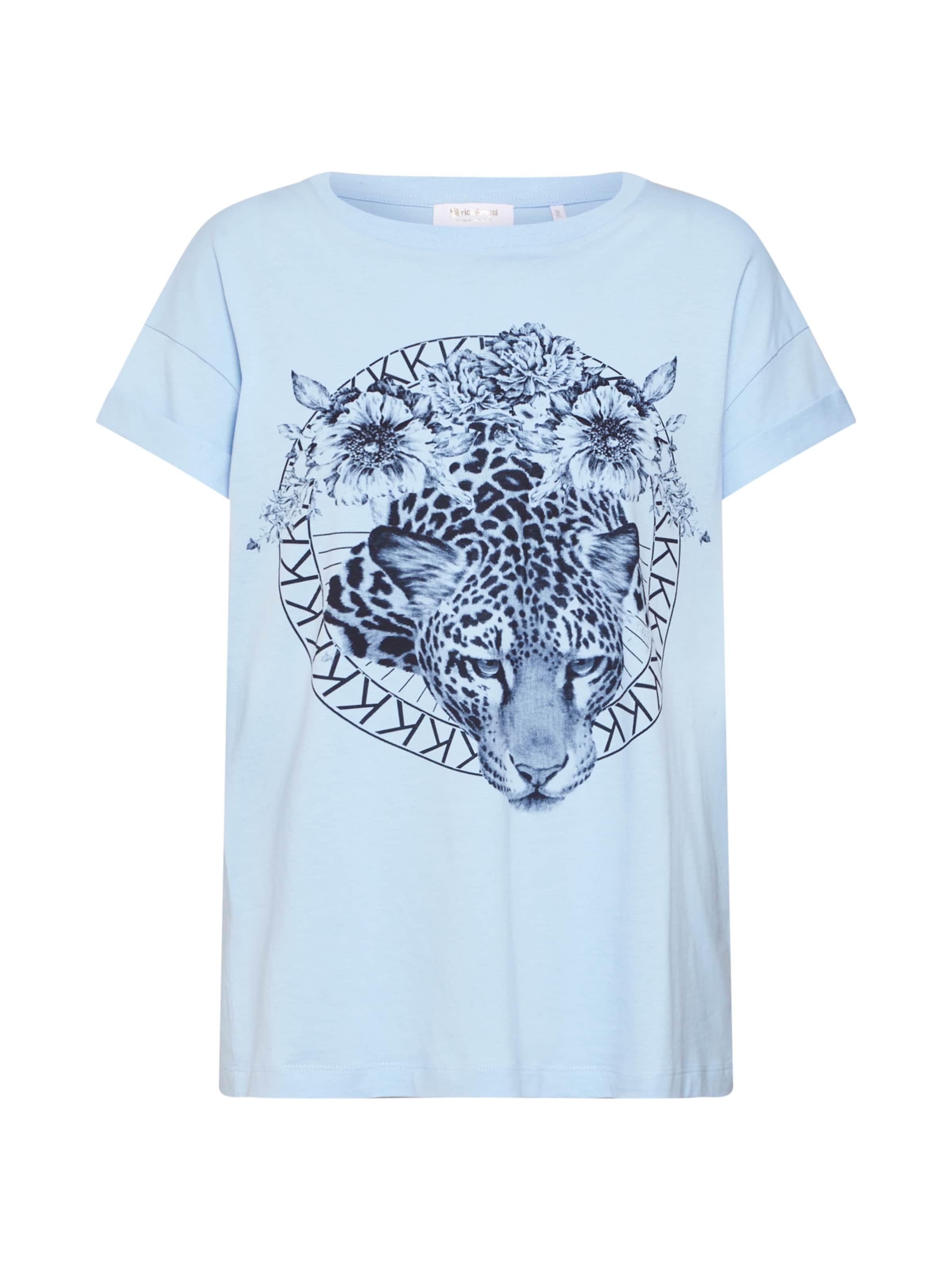 T shirt 'leo' Richamp; En Bleu FoncéBlanc Royal 2HIYeWEbD9