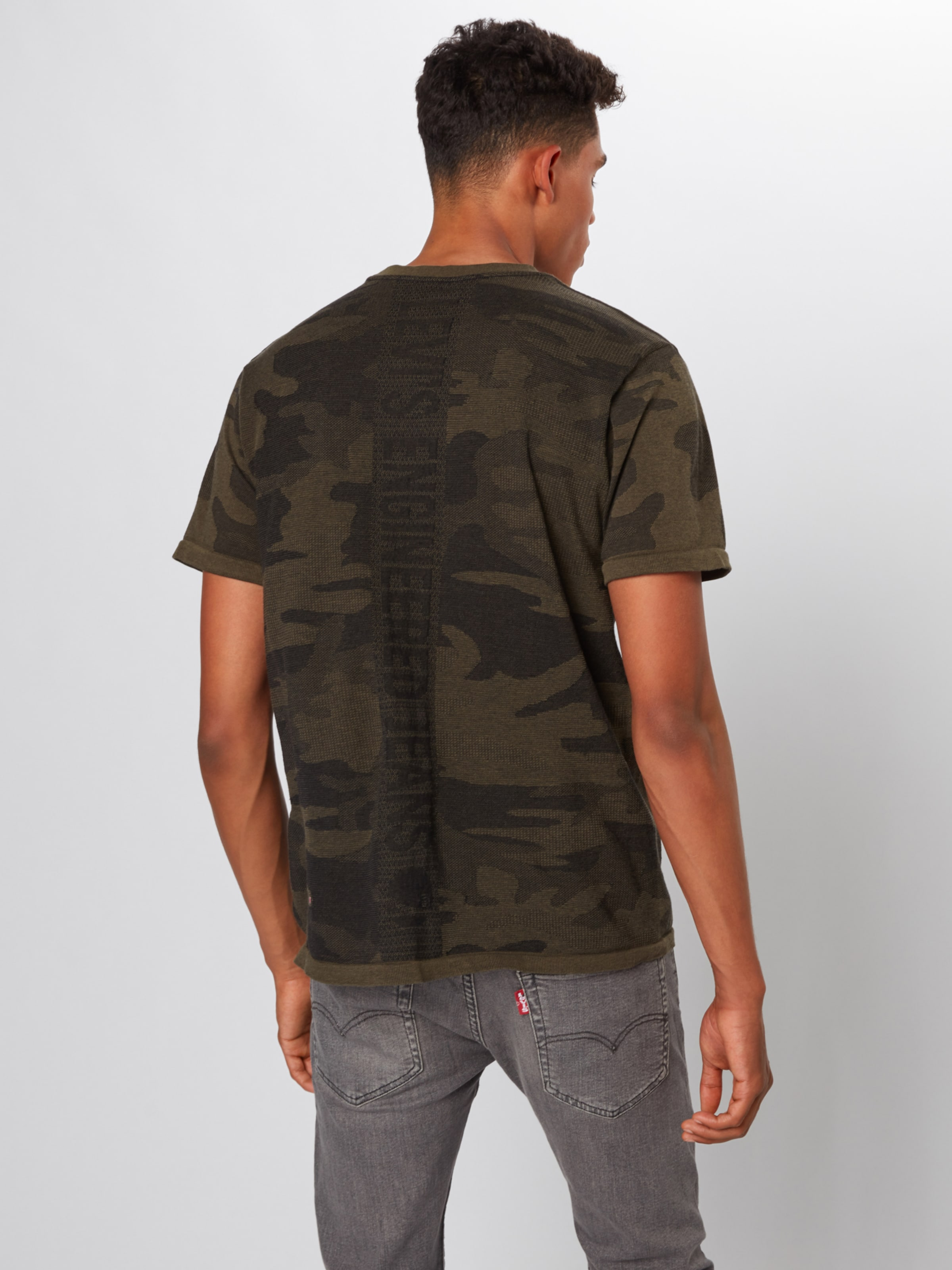 'lekteelek' Foncé Vert Levi's T shirt En nN0wv8m