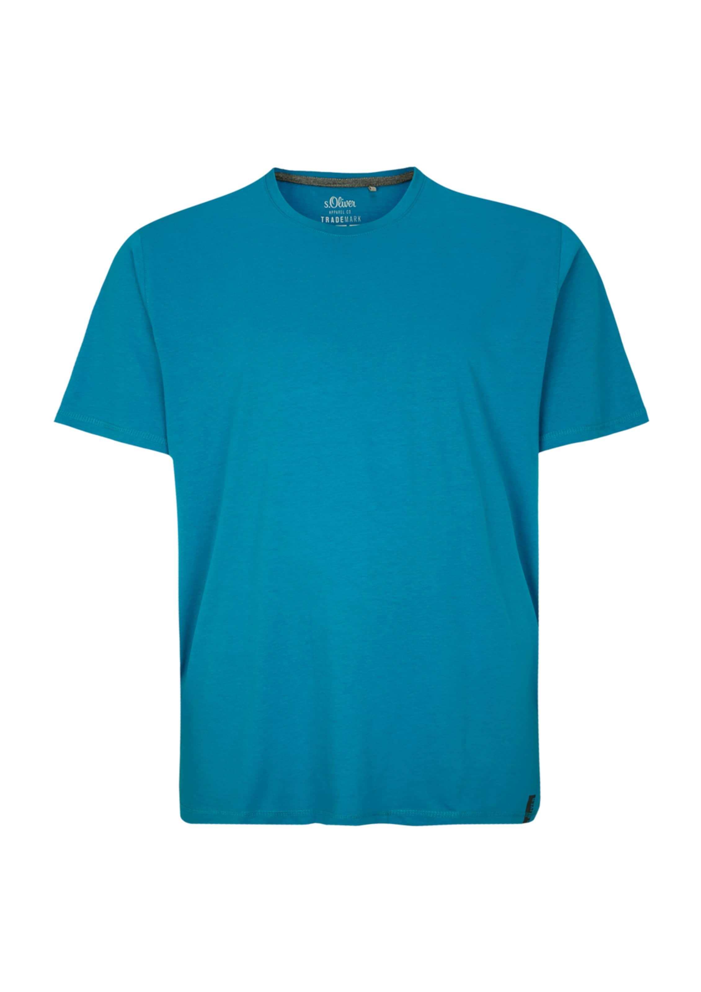 Label In Himmelblau Red Shirt oliver S PNOZn0kX8w