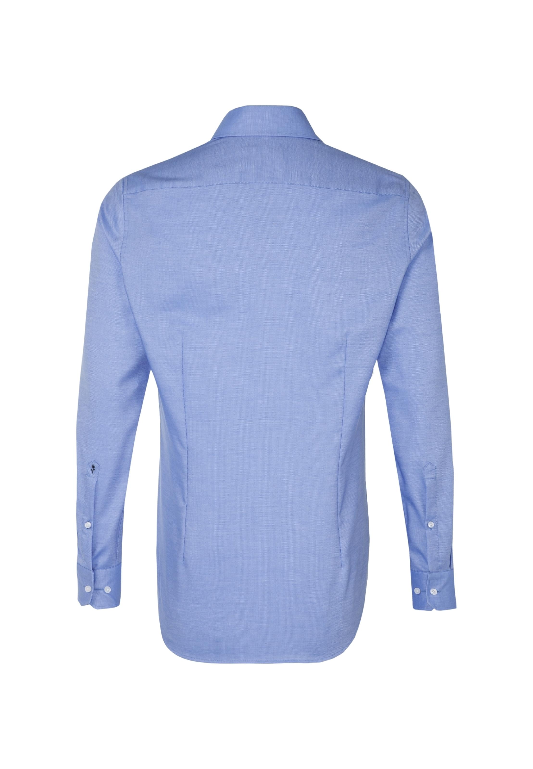 Business RoiBlanc Chemise Seidensticker En Bleu EI9De2YWHb