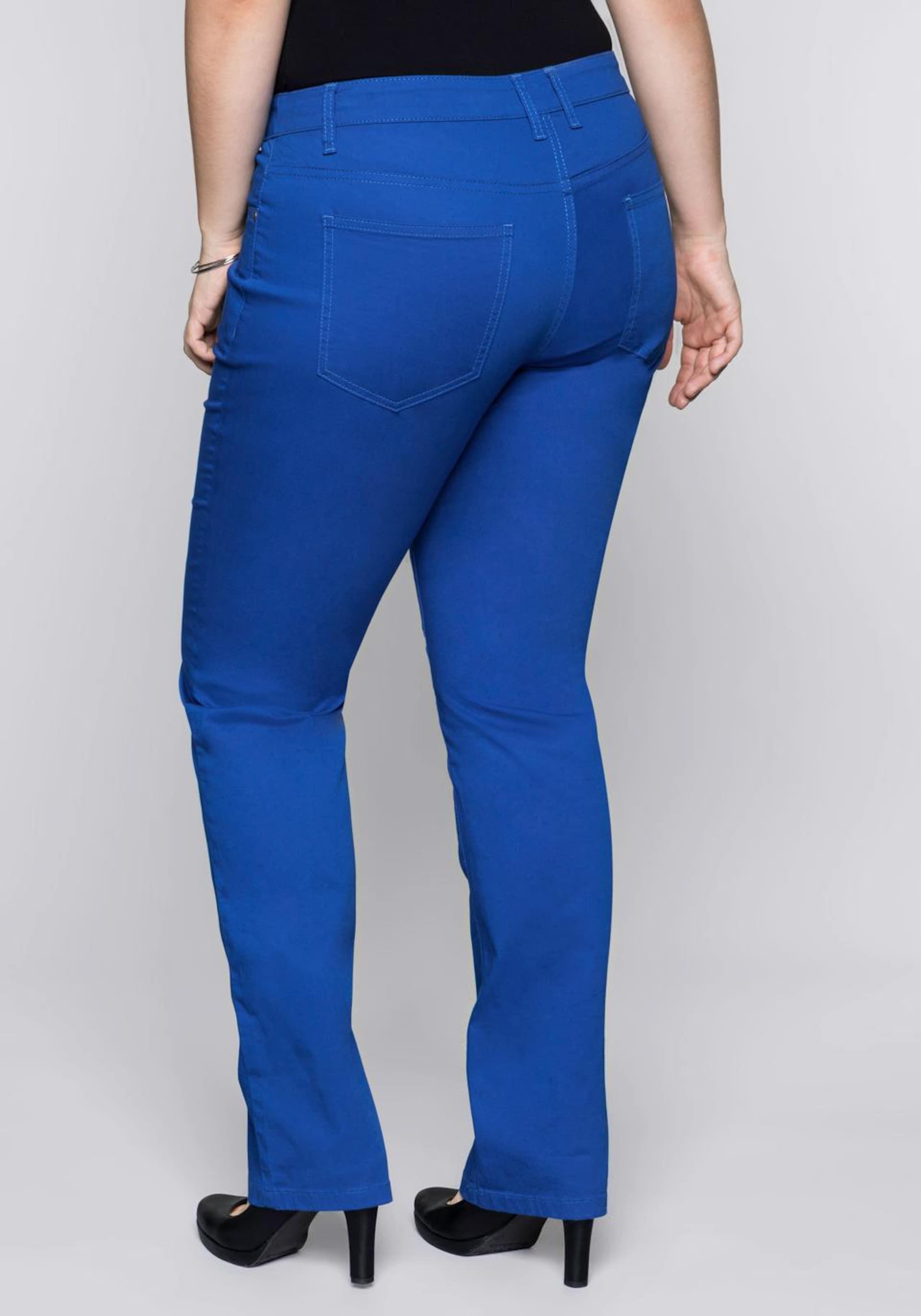 Basic Sheego In Anzughose Blau 0w8nNm