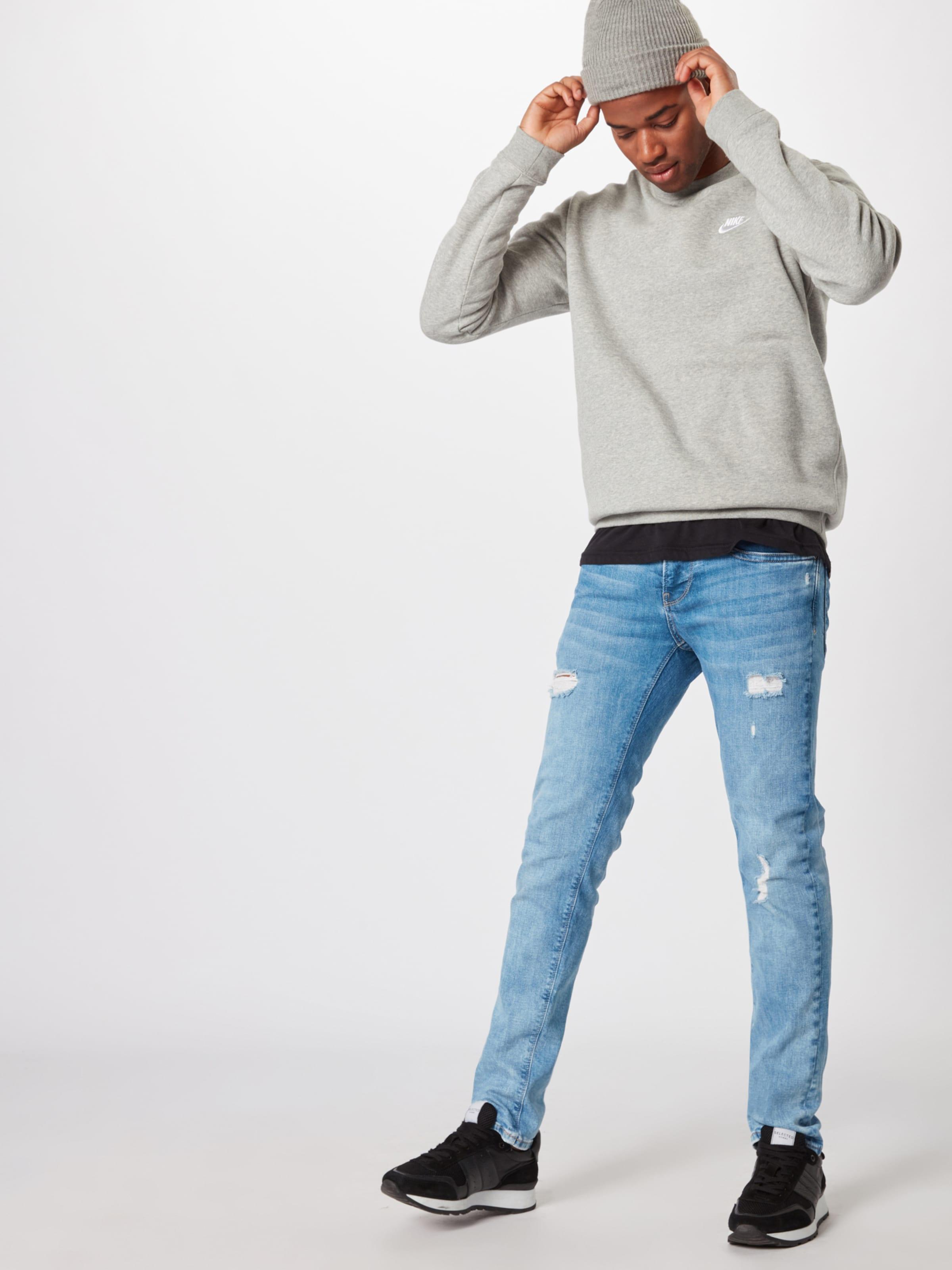 'hatch' Pepe Jean Bleu Denim Jeans En SMpGzqUV
