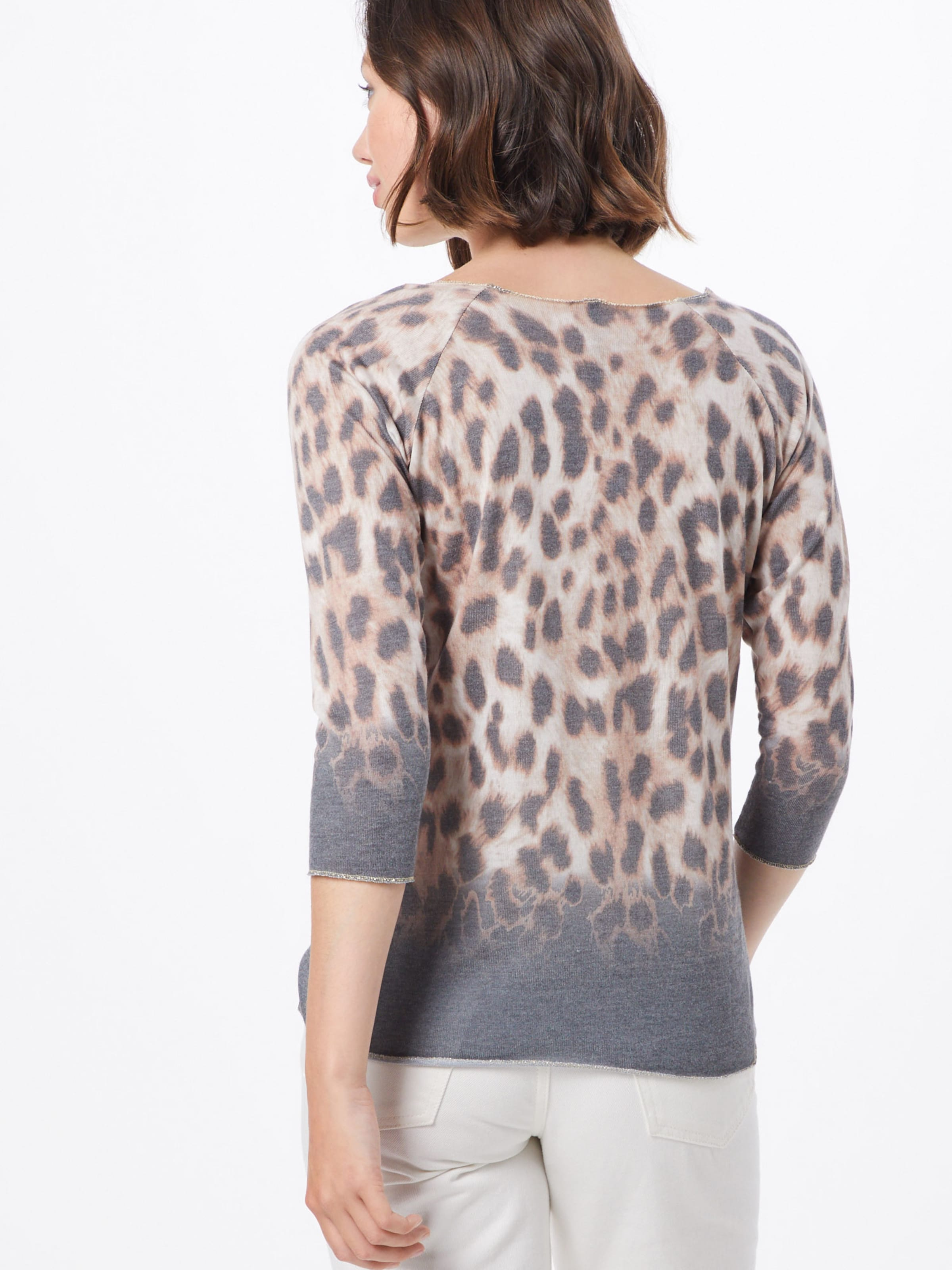 shirt BeigeGris Largo En 'wls T Key Loved' PnO80wk