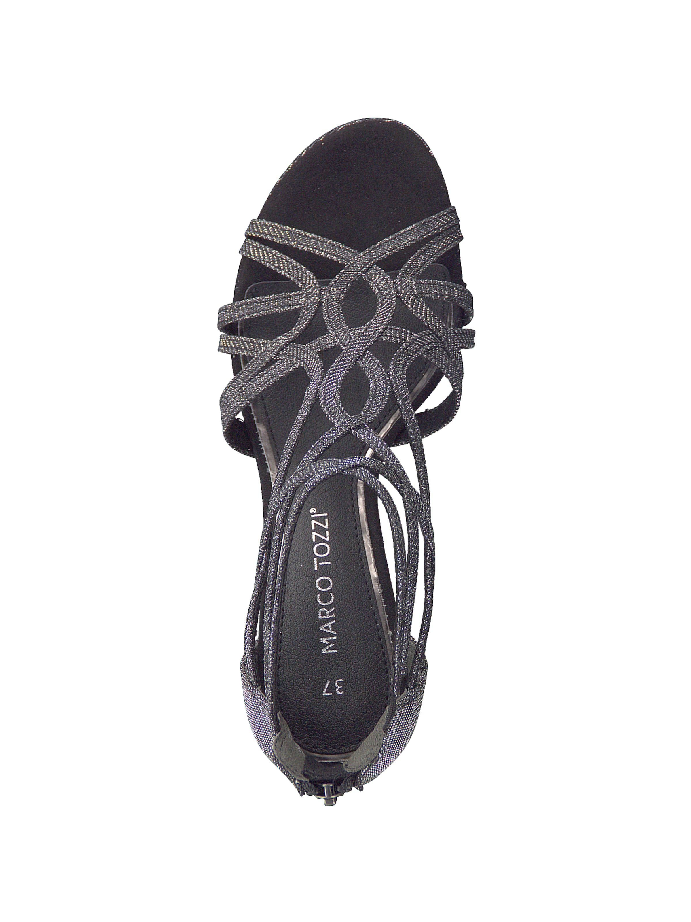 Sandalette Sandalette In In Schwarz Tozzi Tozzi Marco Marco X8POknN0w