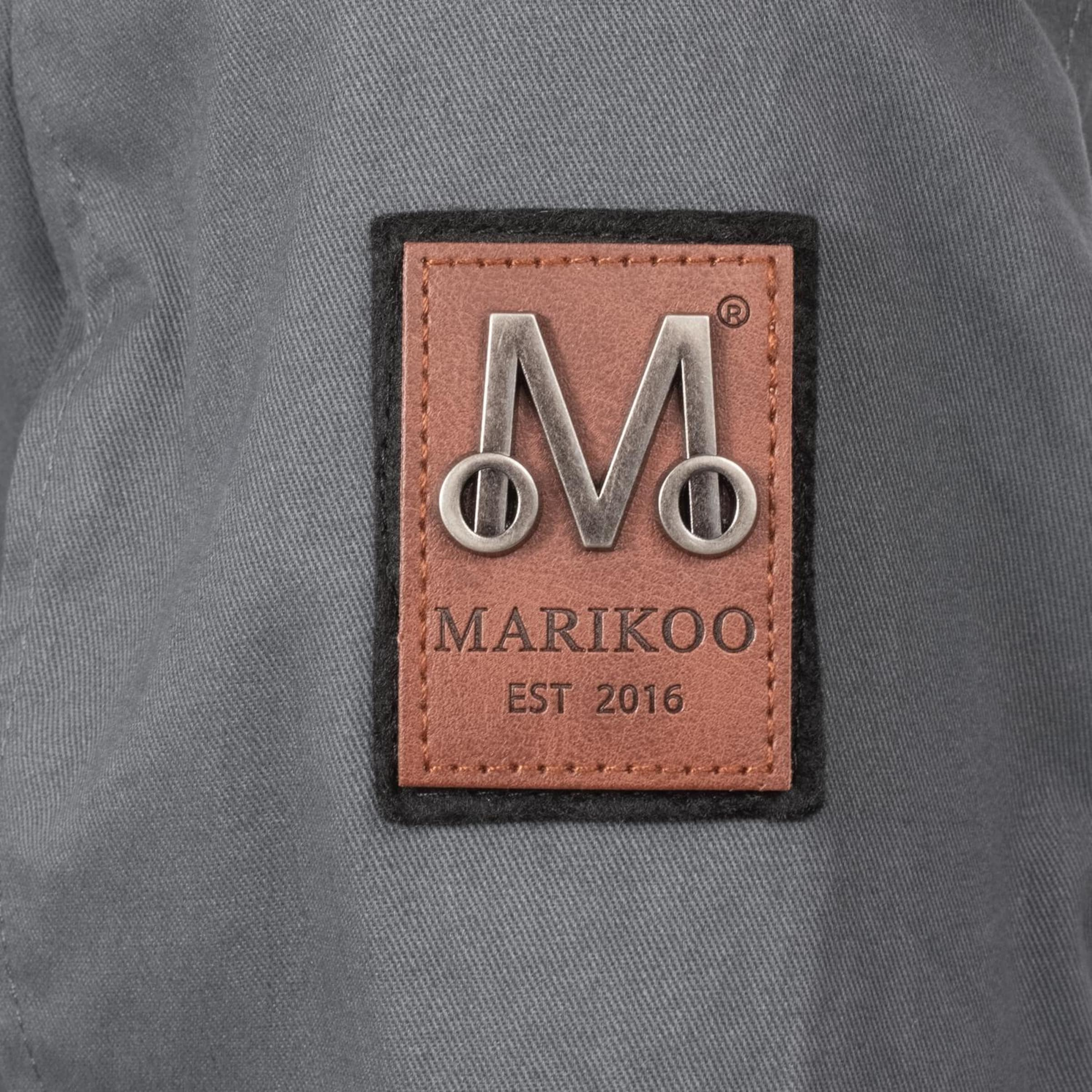Marikoo Dunkelgrau Outdoorjacke 'nyokoo' Outdoorjacke In Marikoo lKTFJ1c