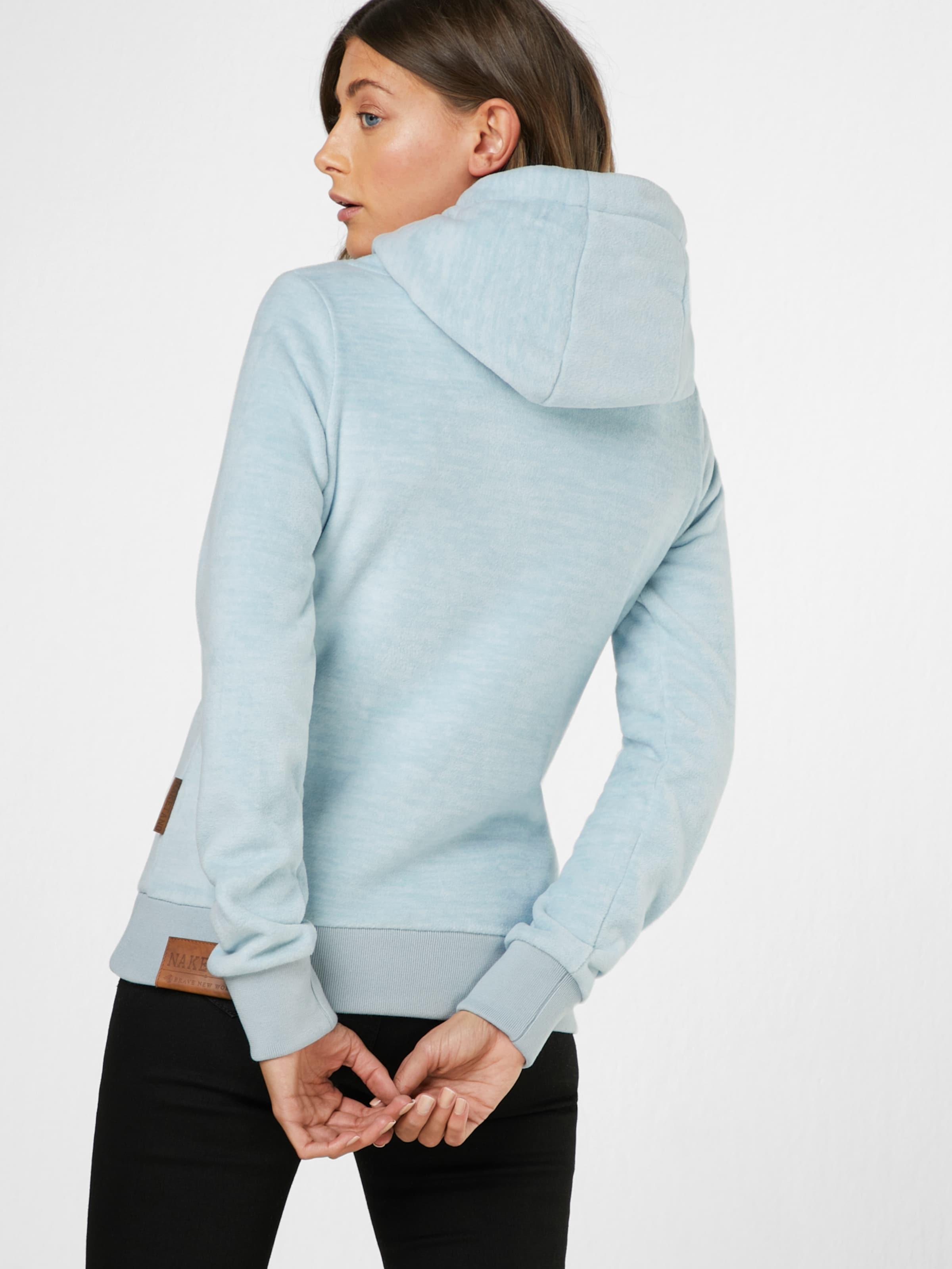 Bleu En shirt 'kanisterkopf' Naketano Clair Sweat nOkP80w