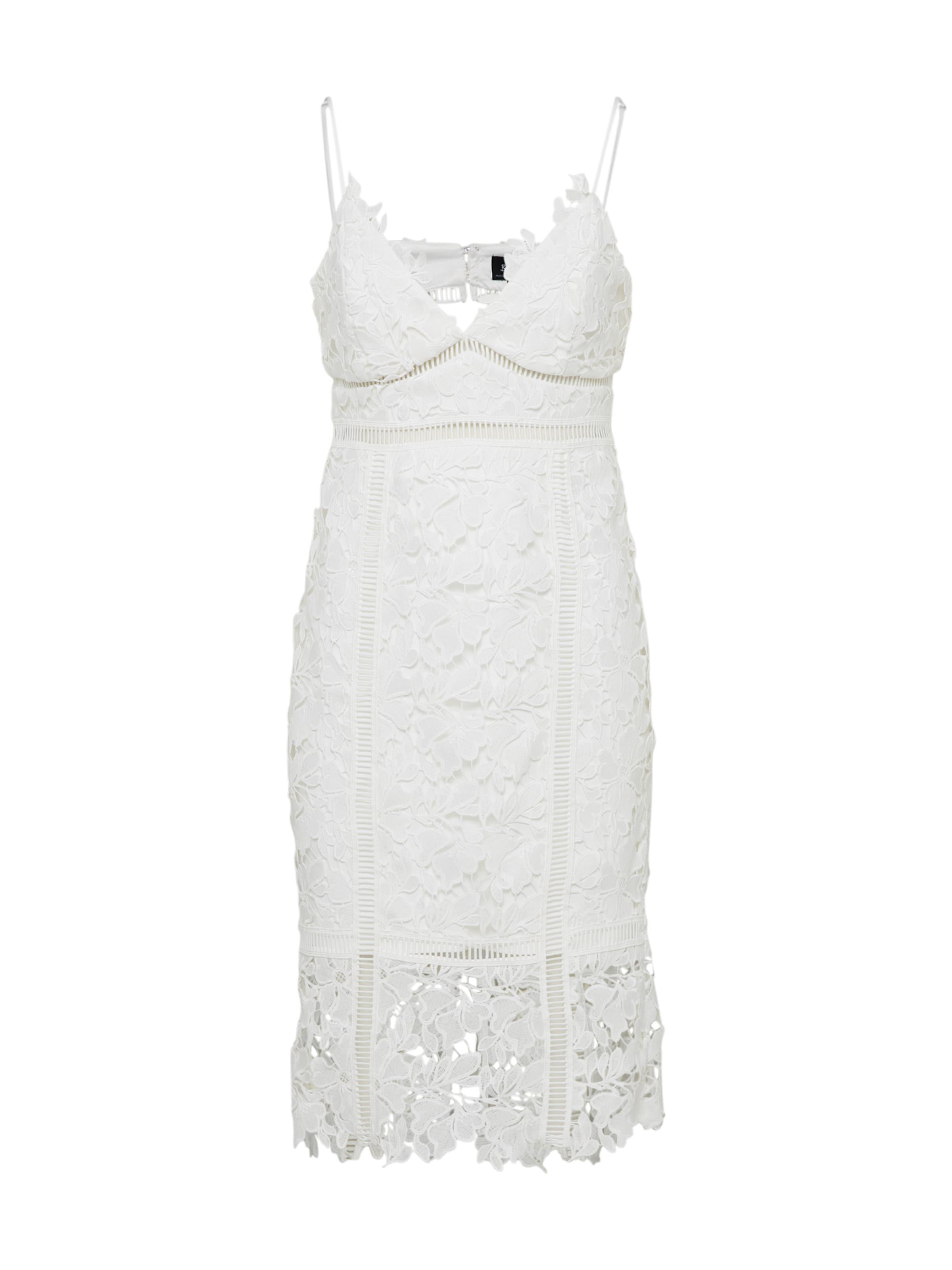 De En Bardot Blanc Cocktail Robe 'botanica' 0knOwP8