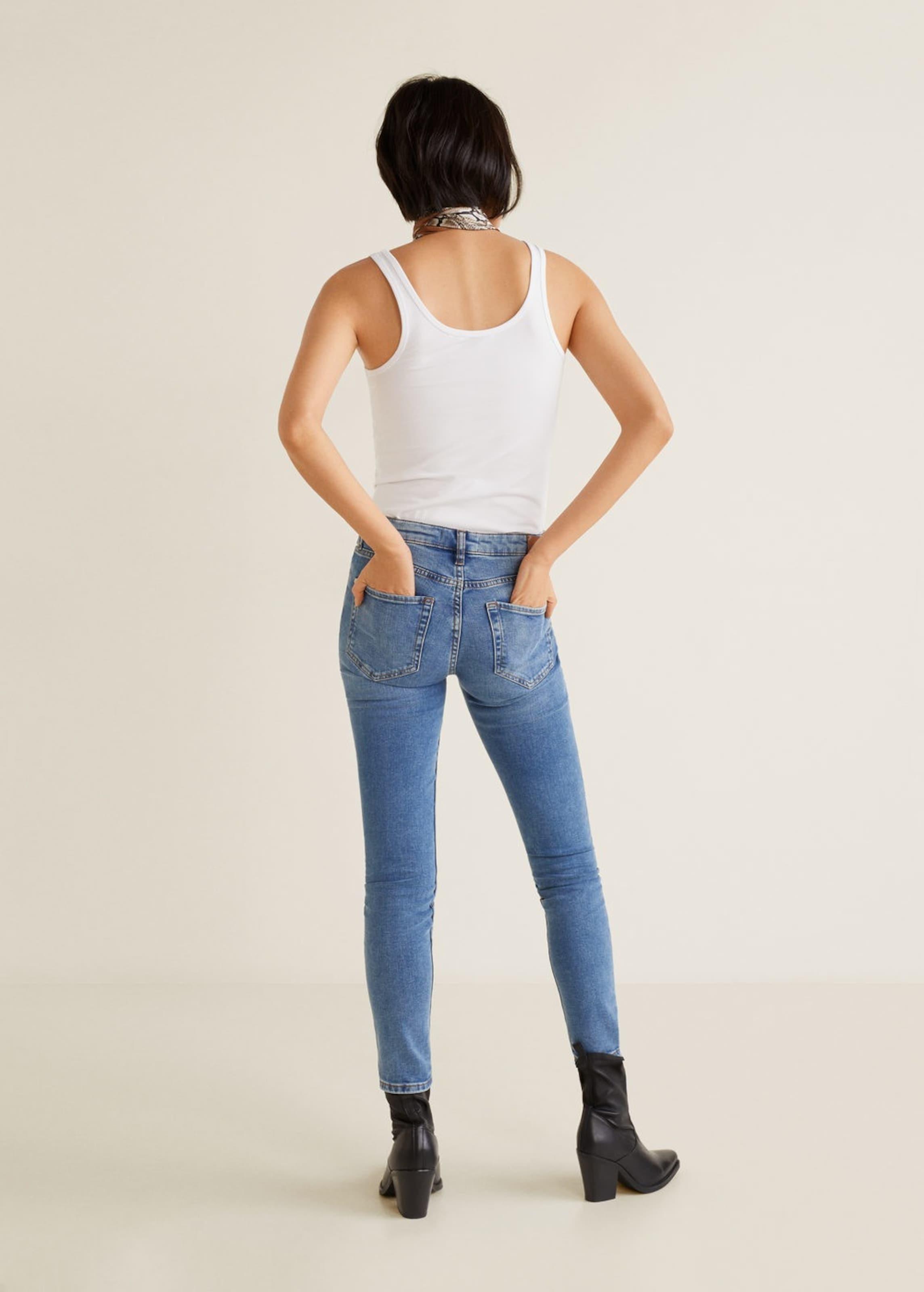 Denim 'olivia' Blue Mango In Jeans WH9IeDE2Y