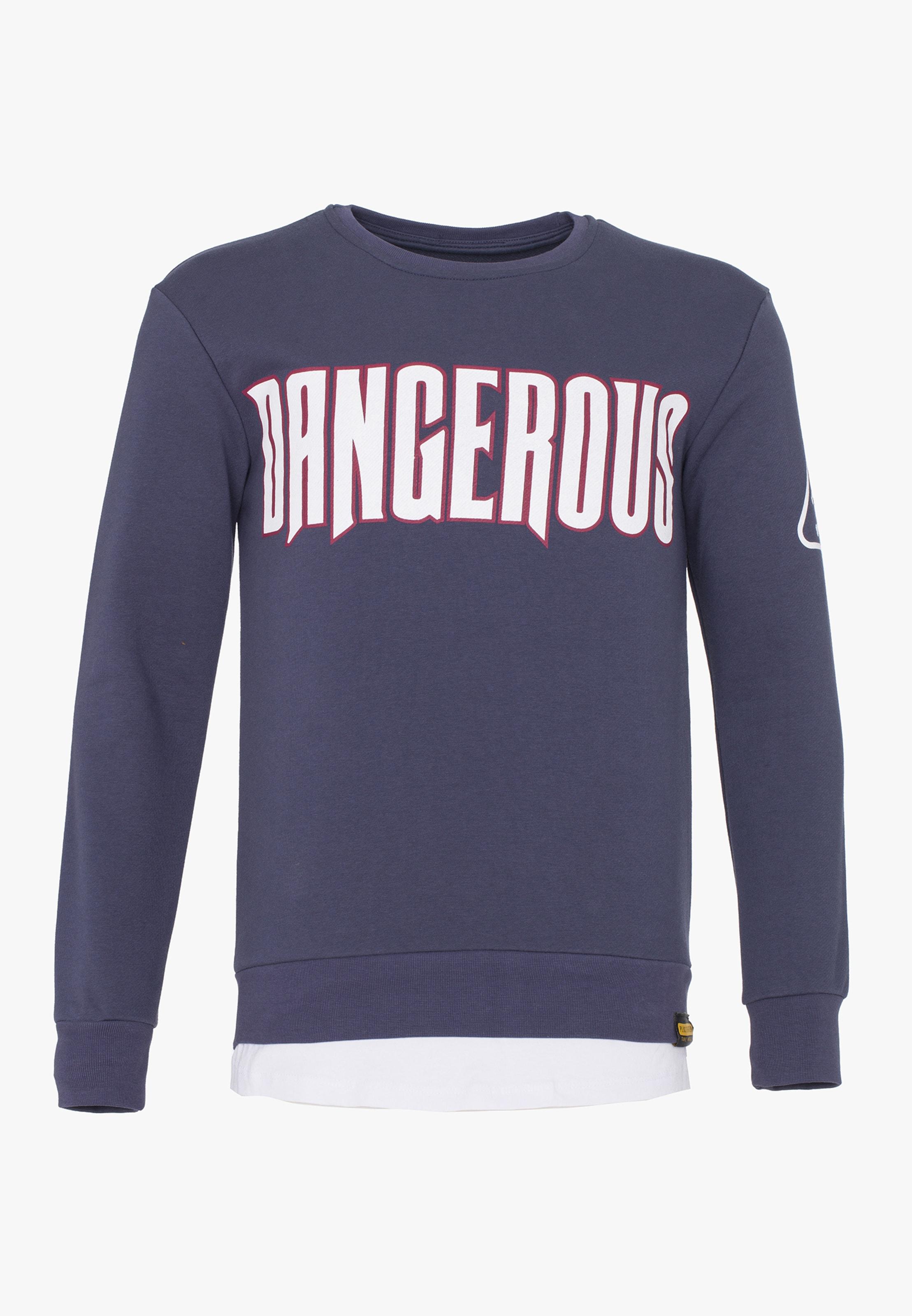 shirt En Plus Sweat Rouge ClairNoir Eighteen mN80wOvyn
