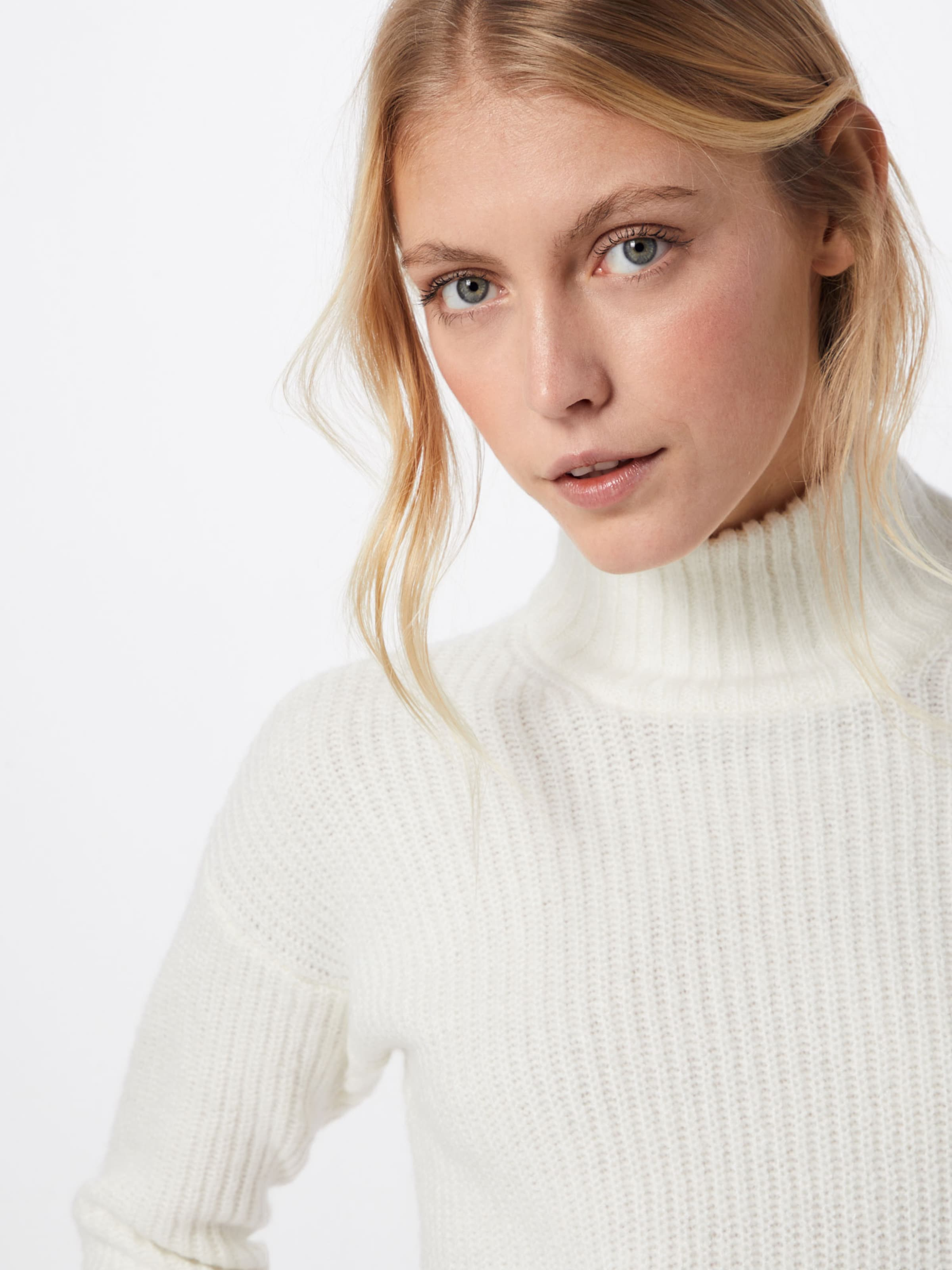 Pull 'nmtomma over L s May Blanc Neck En High Knit' Noisy D2YWIH9E