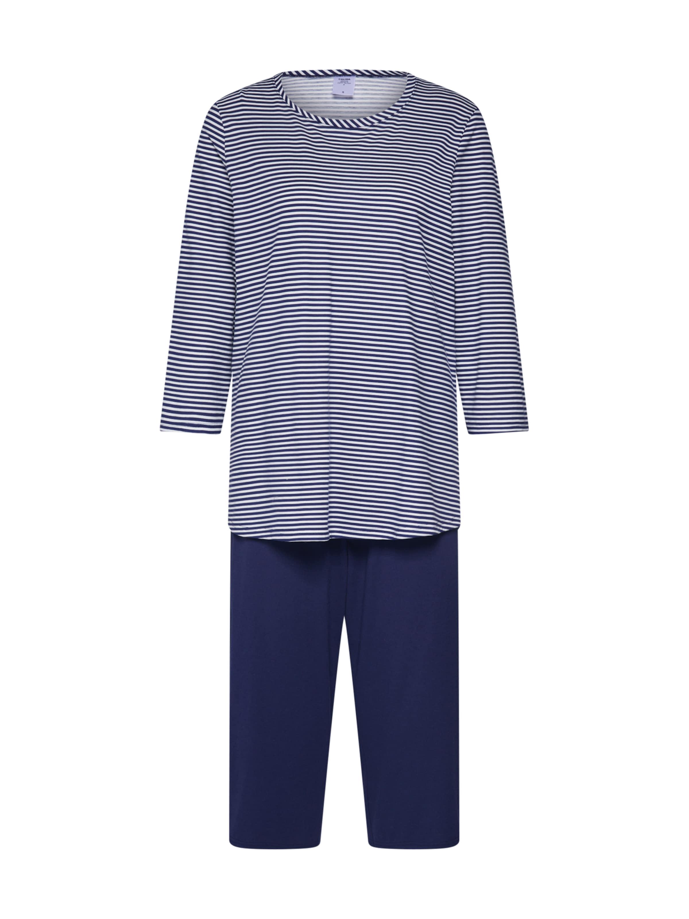Bleu Calida Jersey Fun' Pyjama 'soft En FlJc1TK