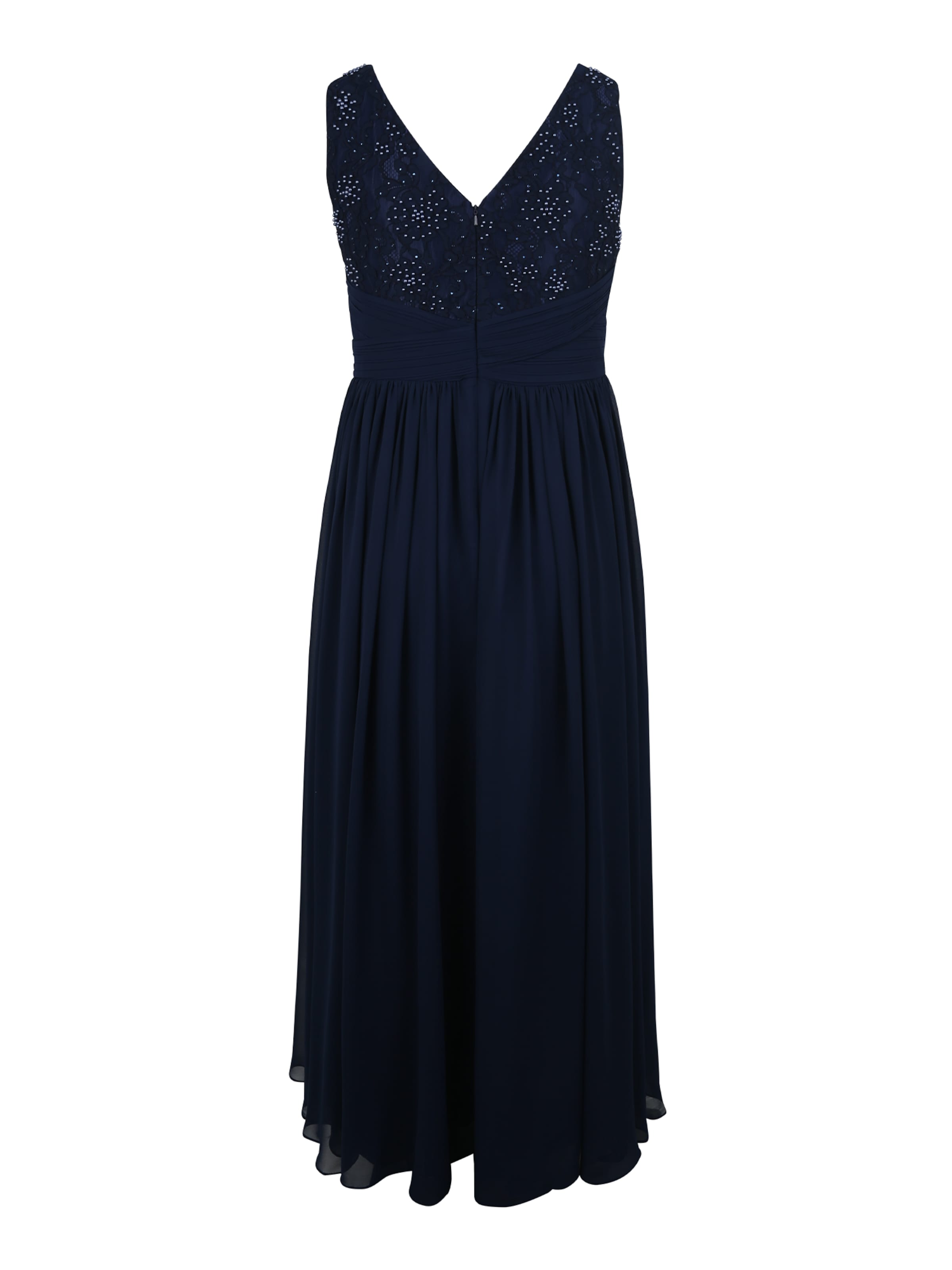 My 'lace Mascara In Kleid Curves Waist' Navy tQCxBdshr