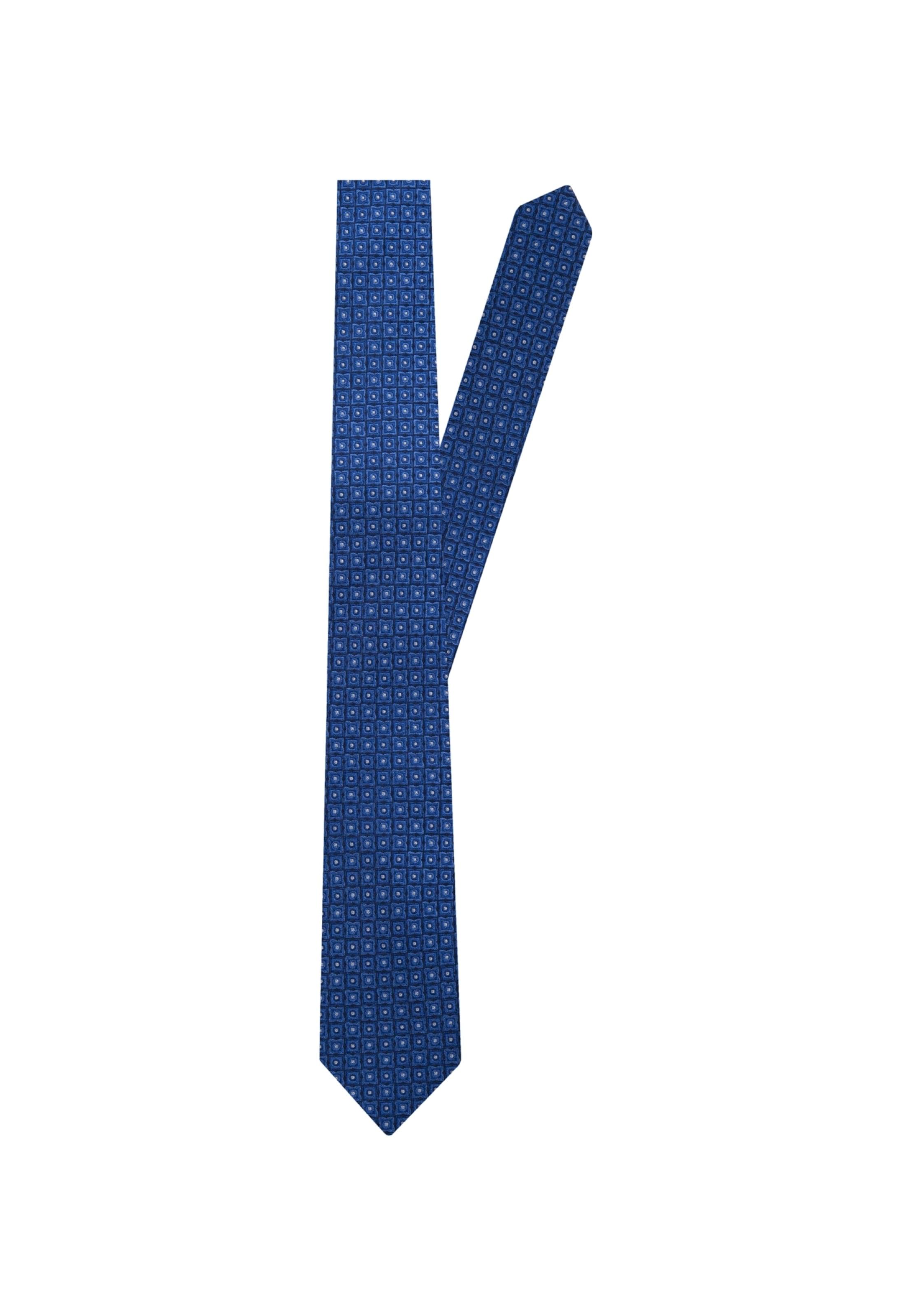 Schwarze En Rose Seidensticker Cravate ' Bleu 45jA3RL