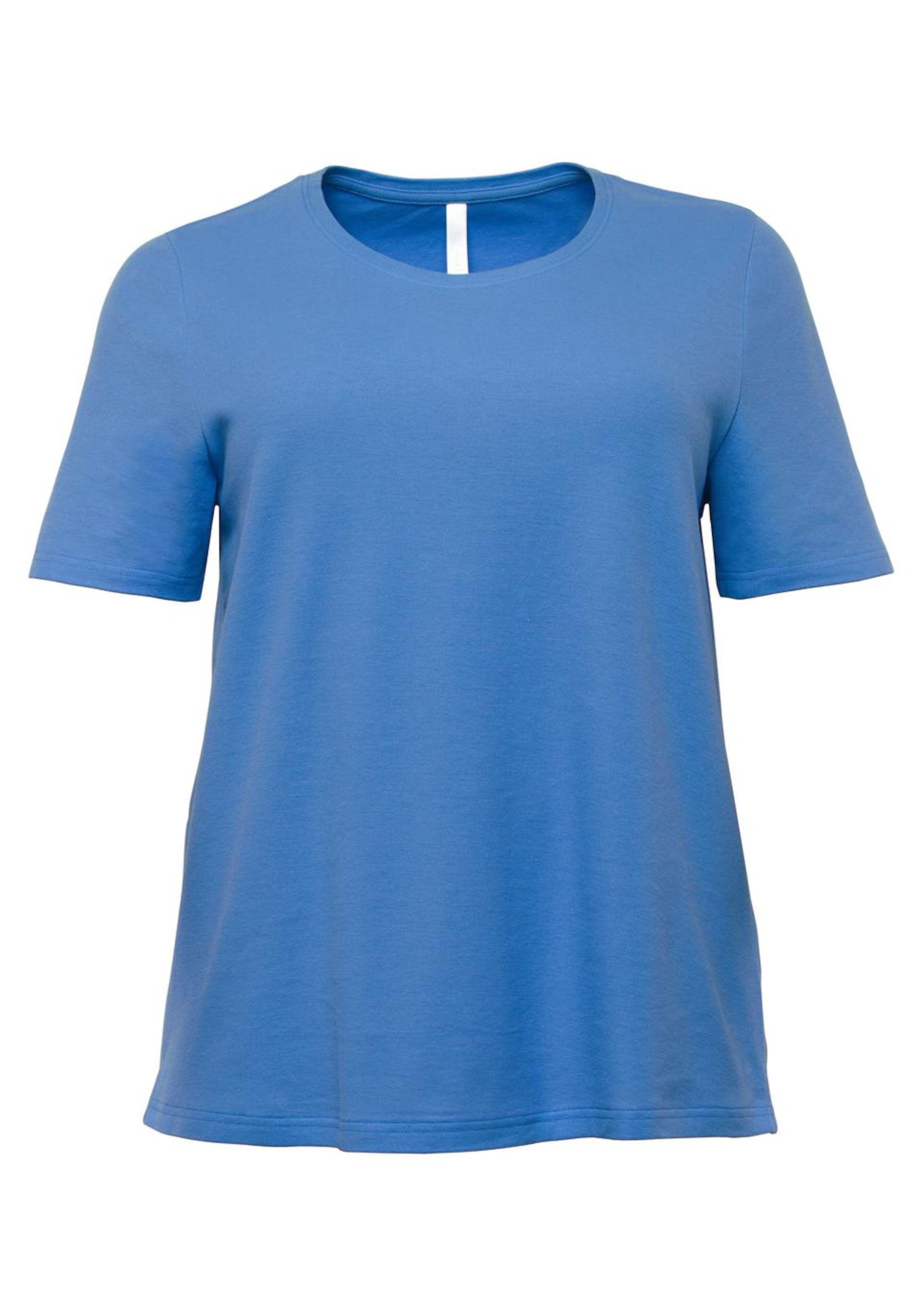 AzurRoyalblau Himmelblau Casual Sheego shirt In T thsrCxQd